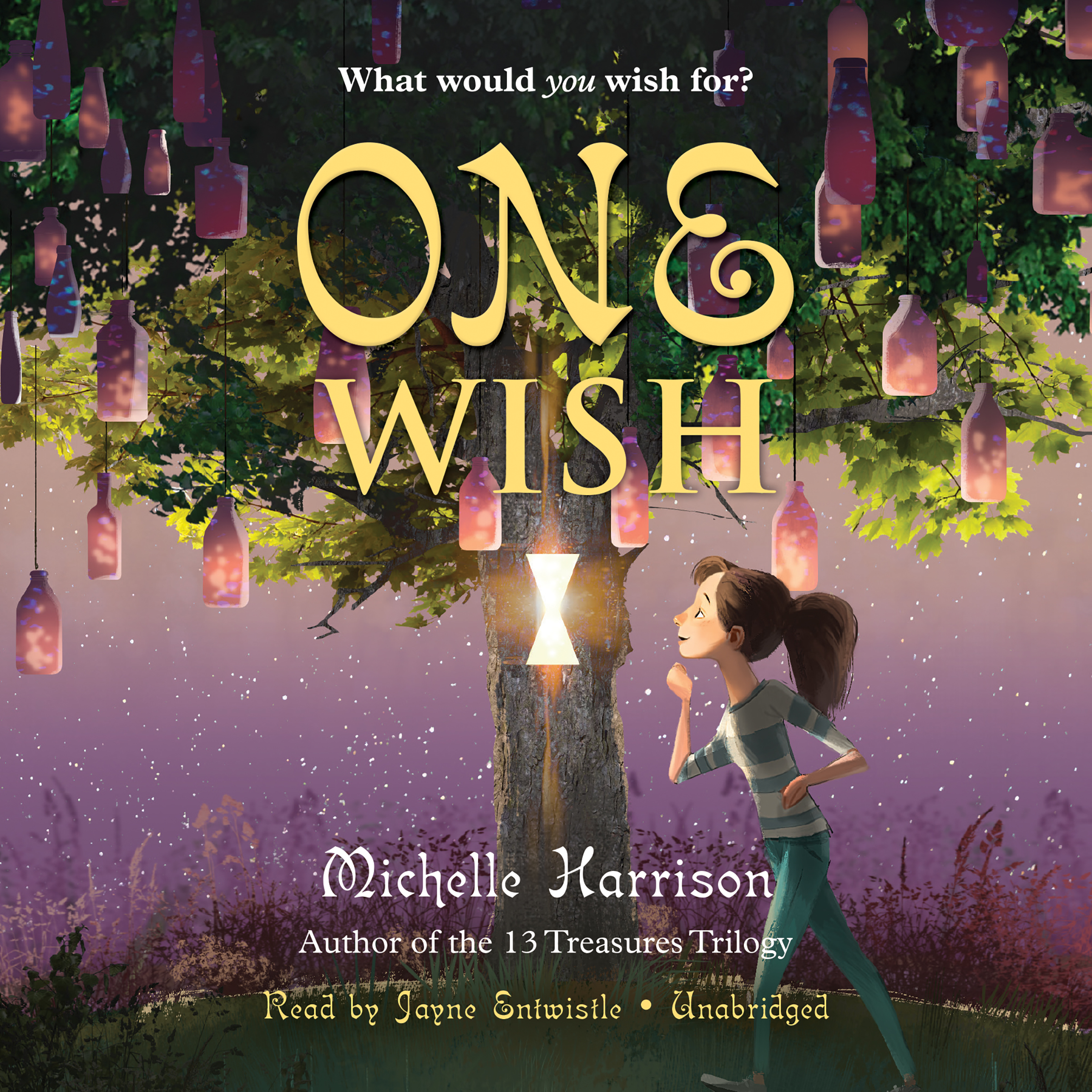 Printable One Wish Audiobook Cover Art