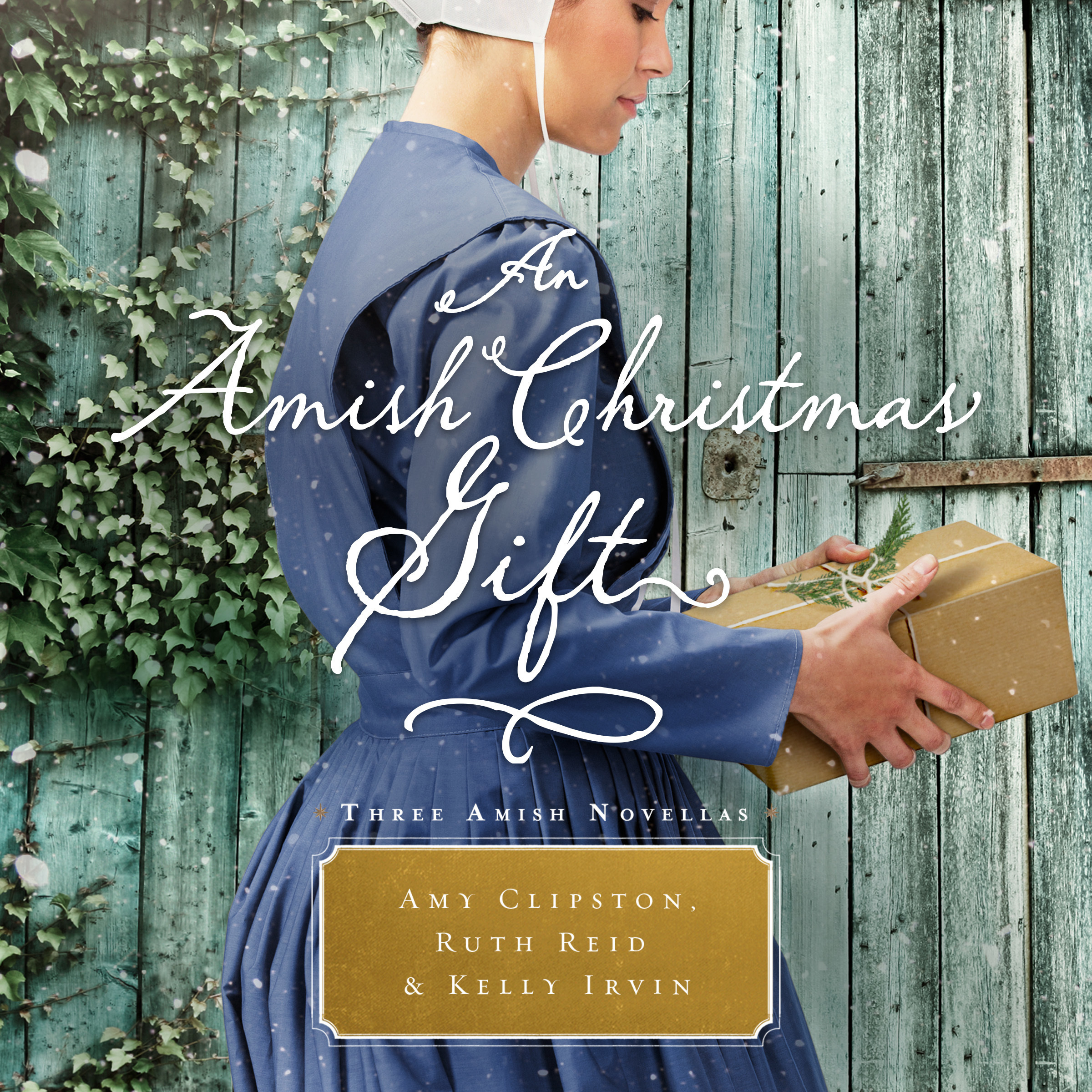 Printable An Amish Christmas Gift: Three Amish Novellas Audiobook Cover Art