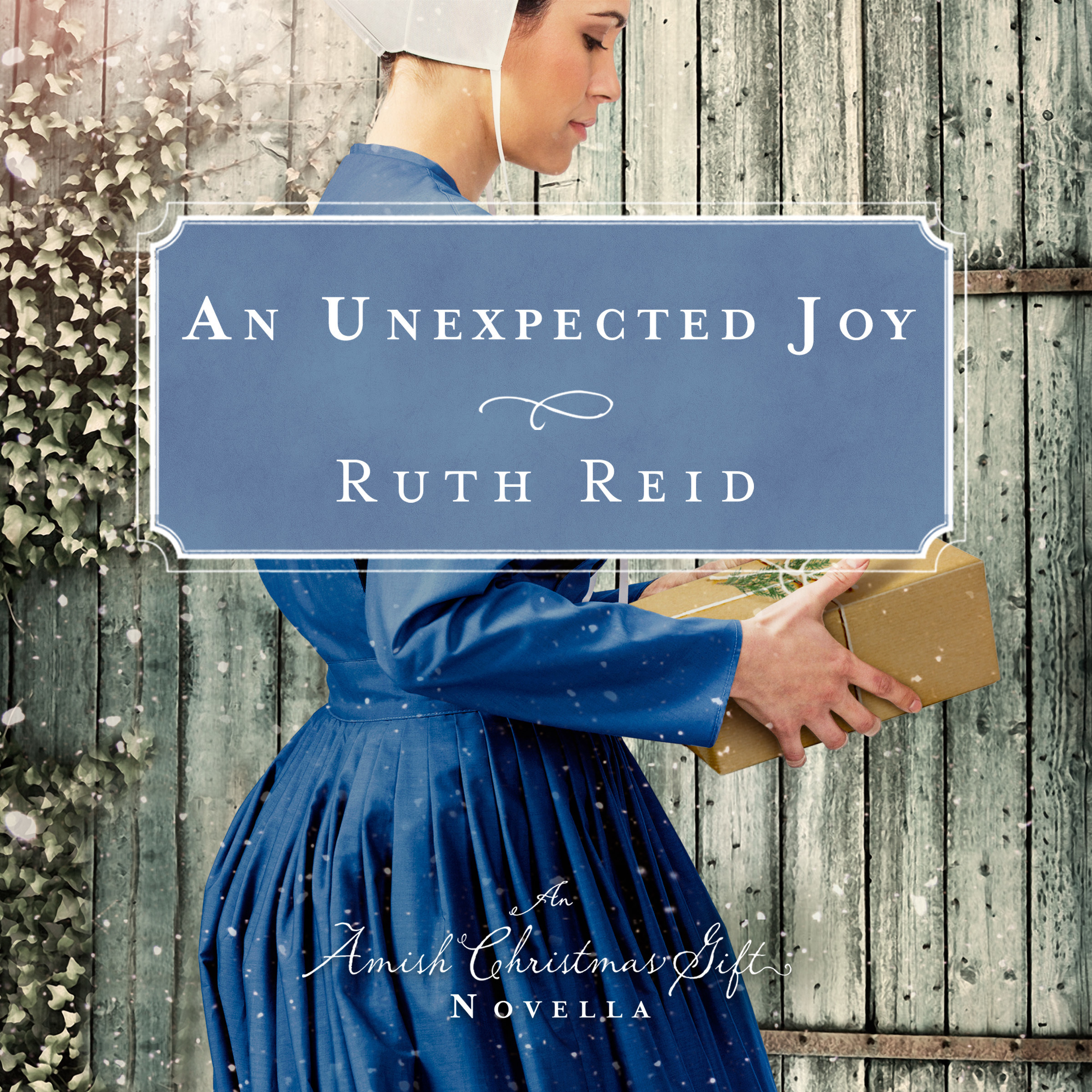 Printable An Unexpected Joy: An Amish Christmas Gift Novella Audiobook Cover Art