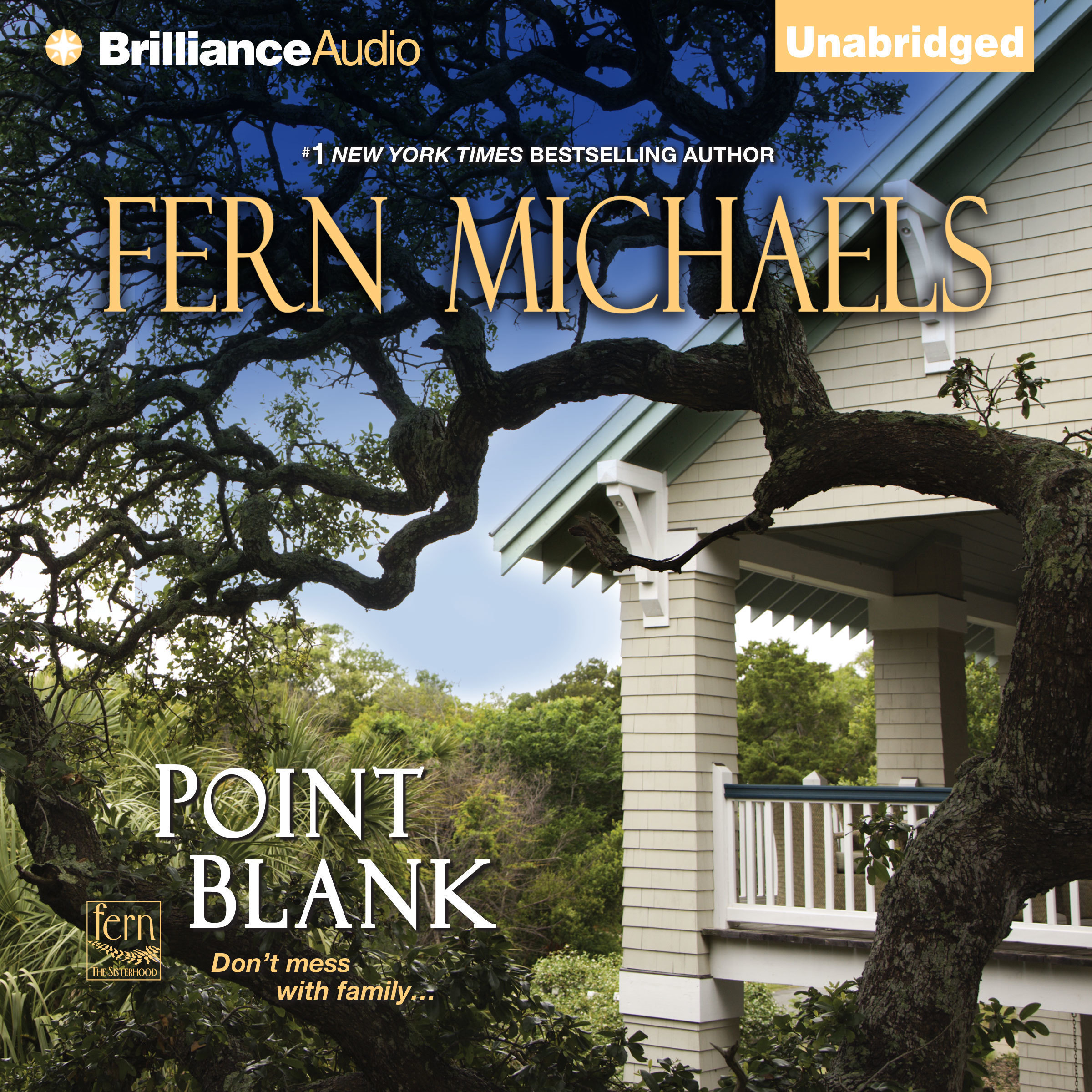 Printable Point Blank Audiobook Cover Art