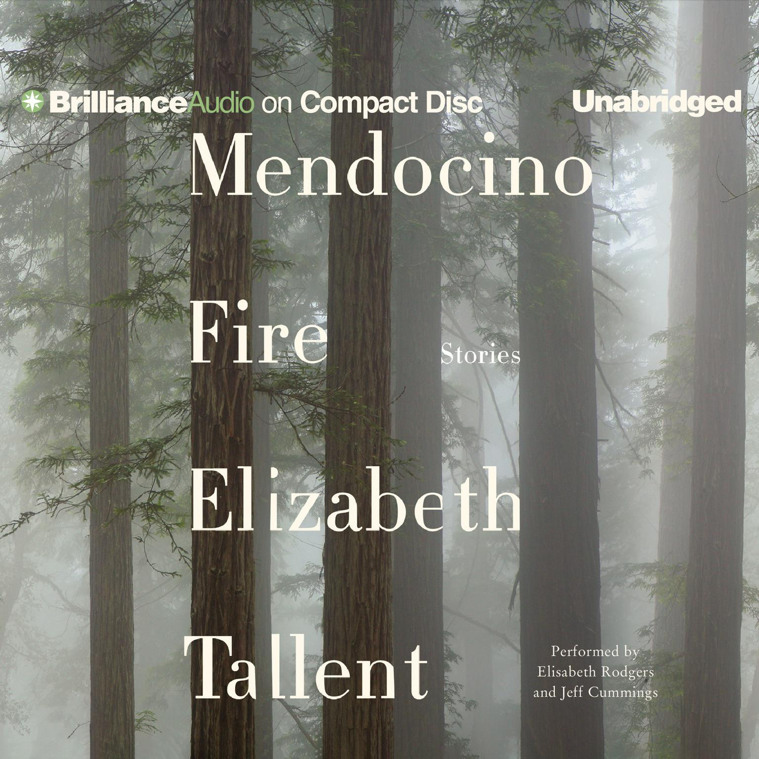 Printable Mendocino Fire: Stories Audiobook Cover Art