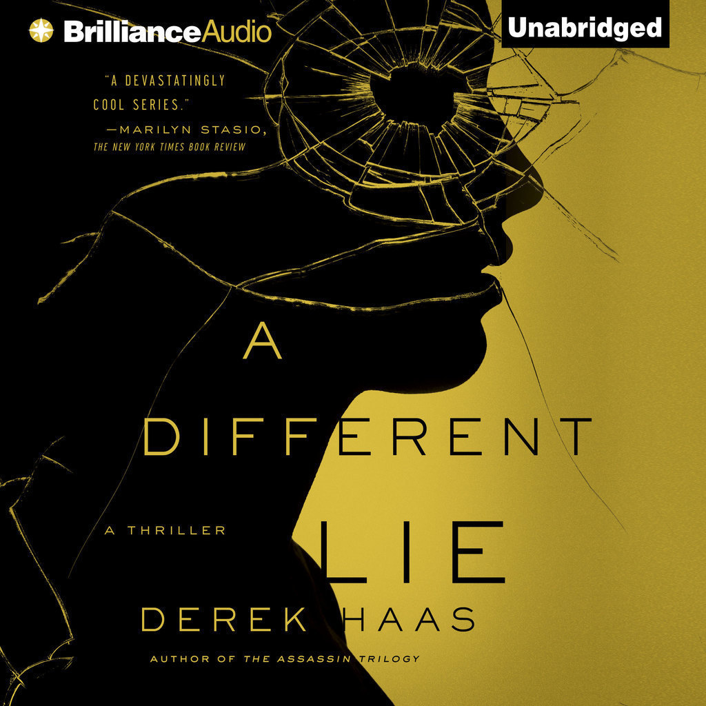 Printable A Different Lie Audiobook Cover Art