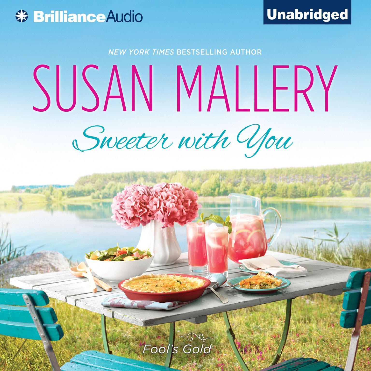 Printable Sweeter with You Audiobook Cover Art