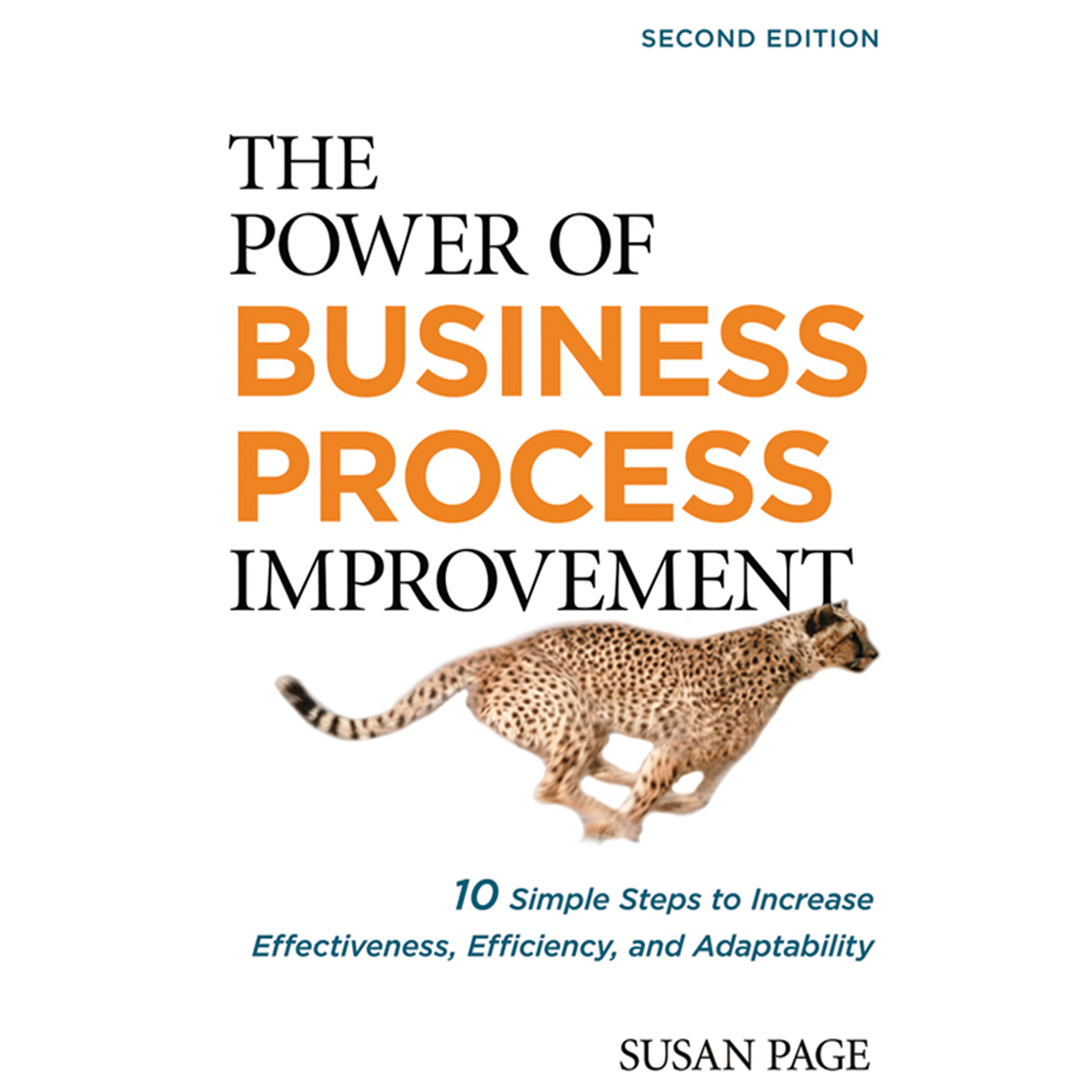 Printable The Power of Business Process Improvement: 10 Simple Steps to Increase Effectiveness, Efficiency, and Adaptability Audiobook Cover Art