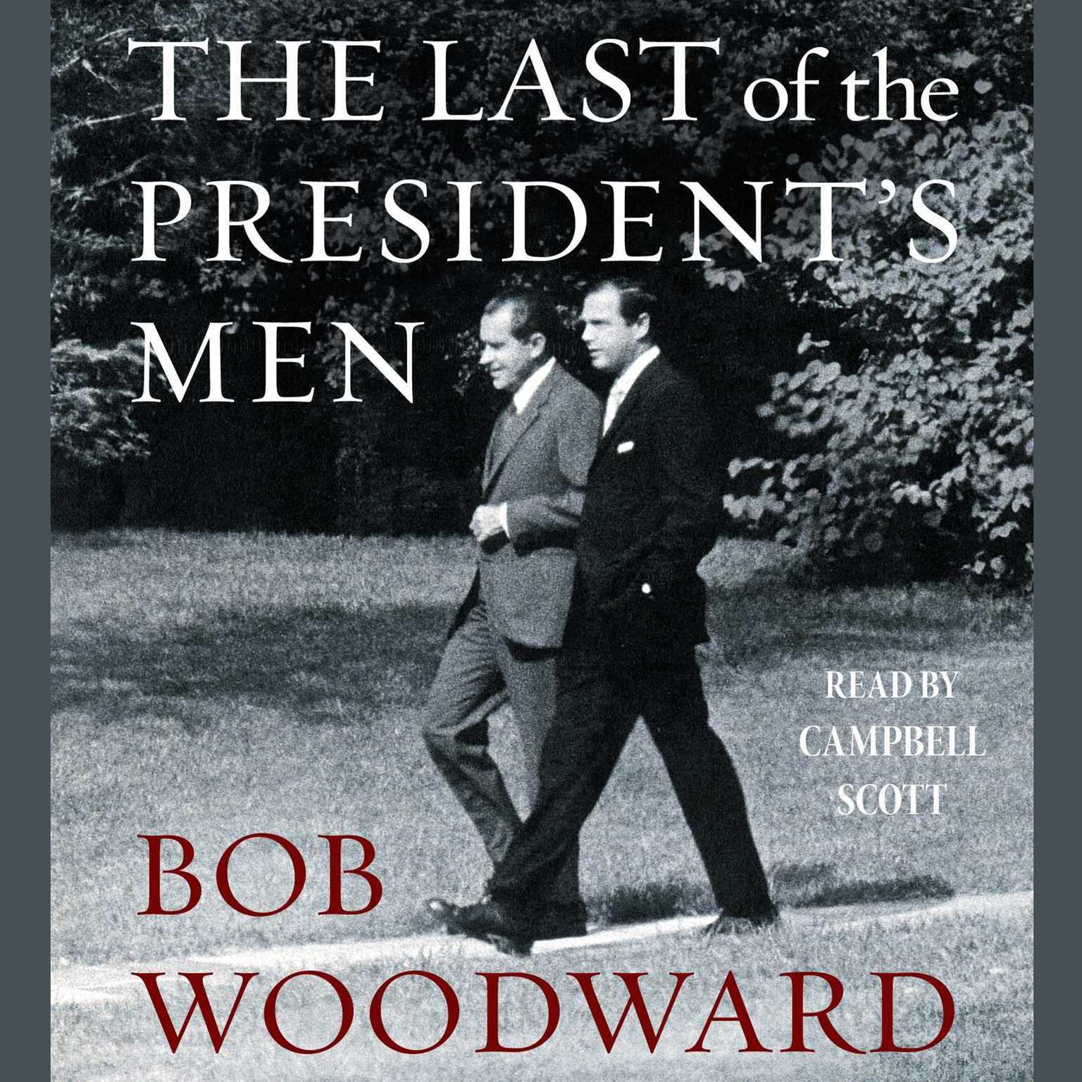 Printable The Last of the President's Men Audiobook Cover Art