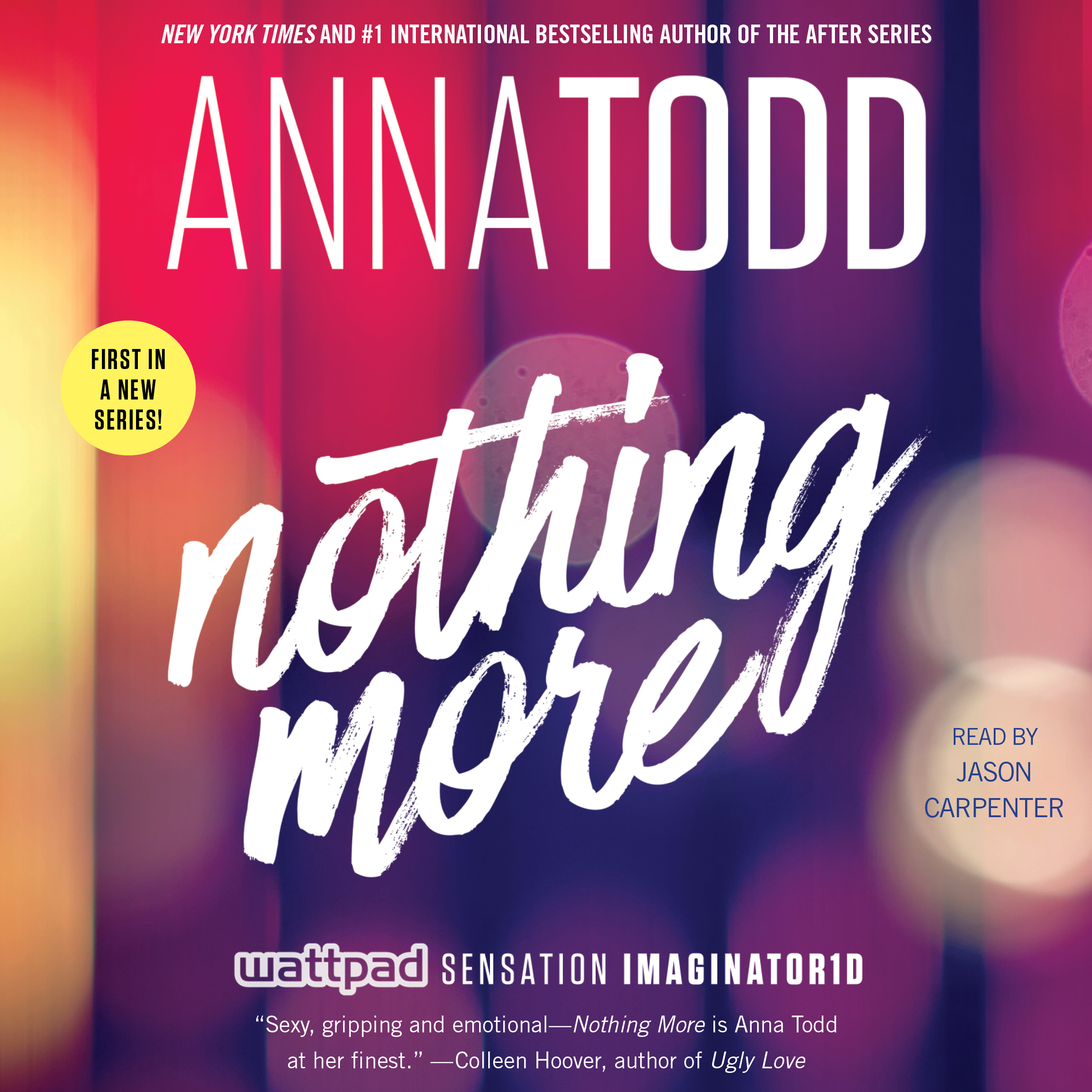 Printable Nothing More Audiobook Cover Art