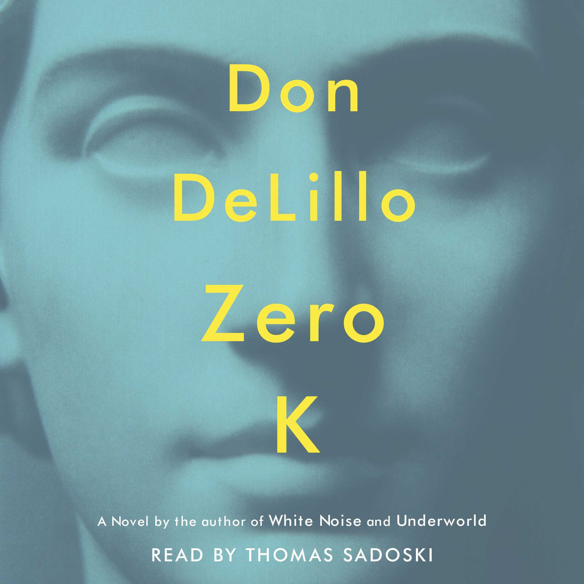 Printable Zero K Audiobook Cover Art