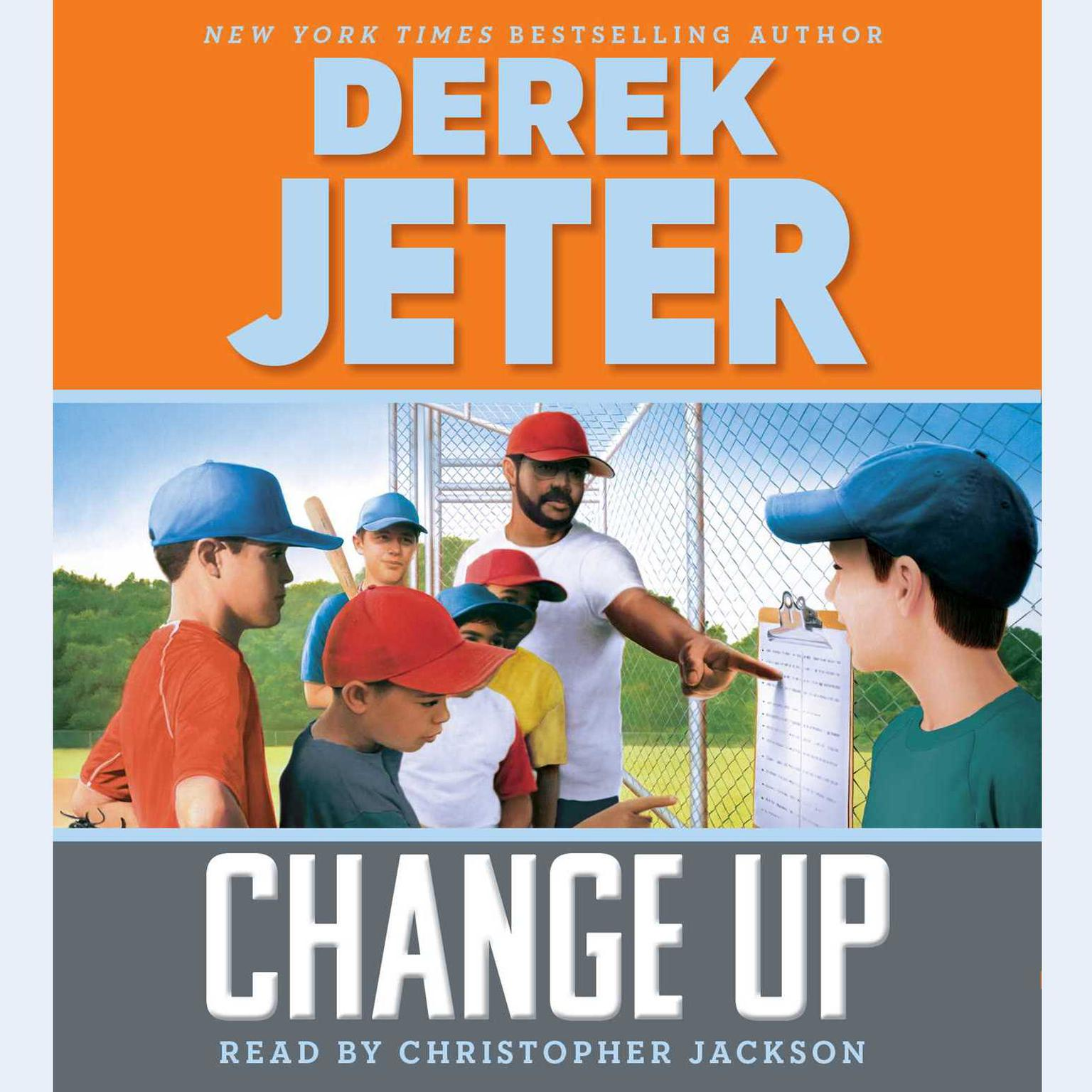 Printable Change Up Audiobook Cover Art