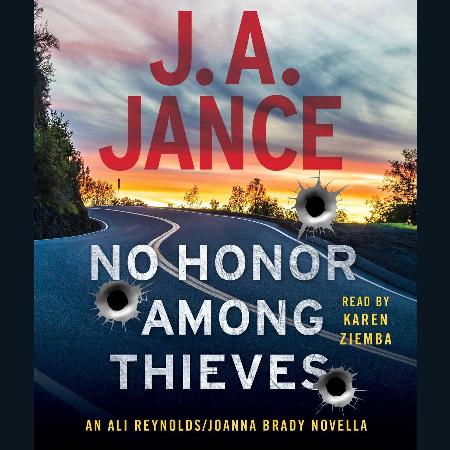 Printable No Honor Among Thieves: An Ali Reynolds Novella Audiobook Cover Art