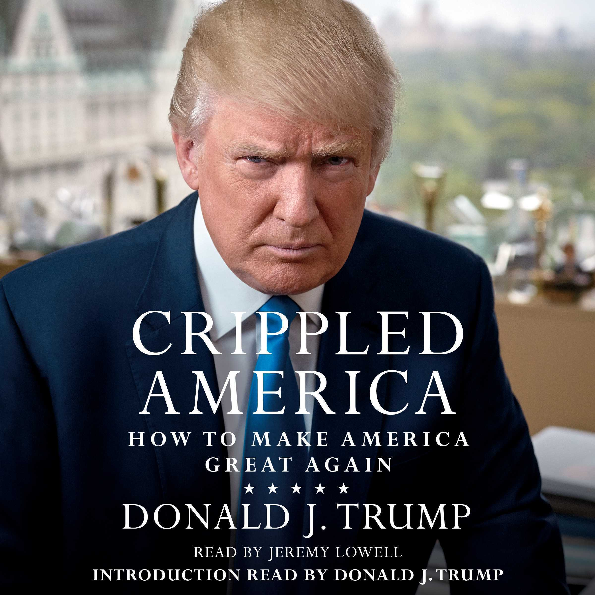 Printable Crippled America: How to Make America Great Again Audiobook Cover Art