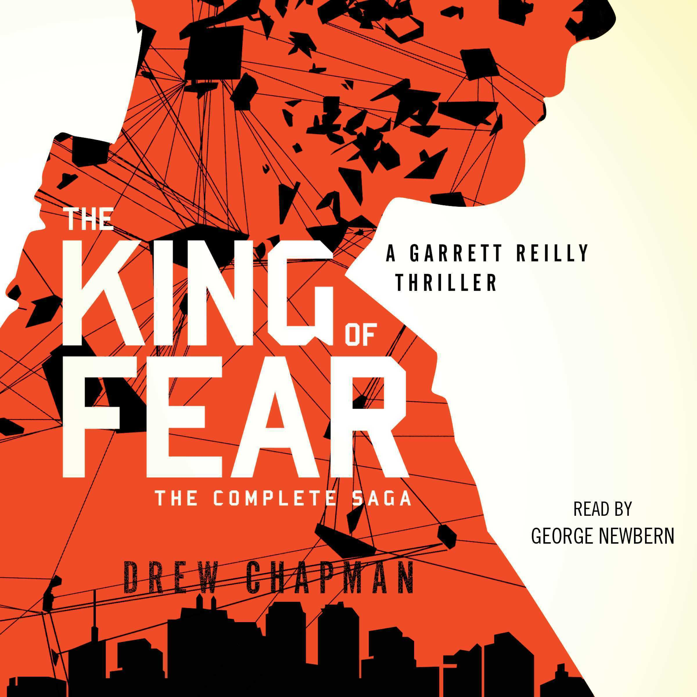 Printable The King of Fear: A Garrett Reilly Thriller Audiobook Cover Art