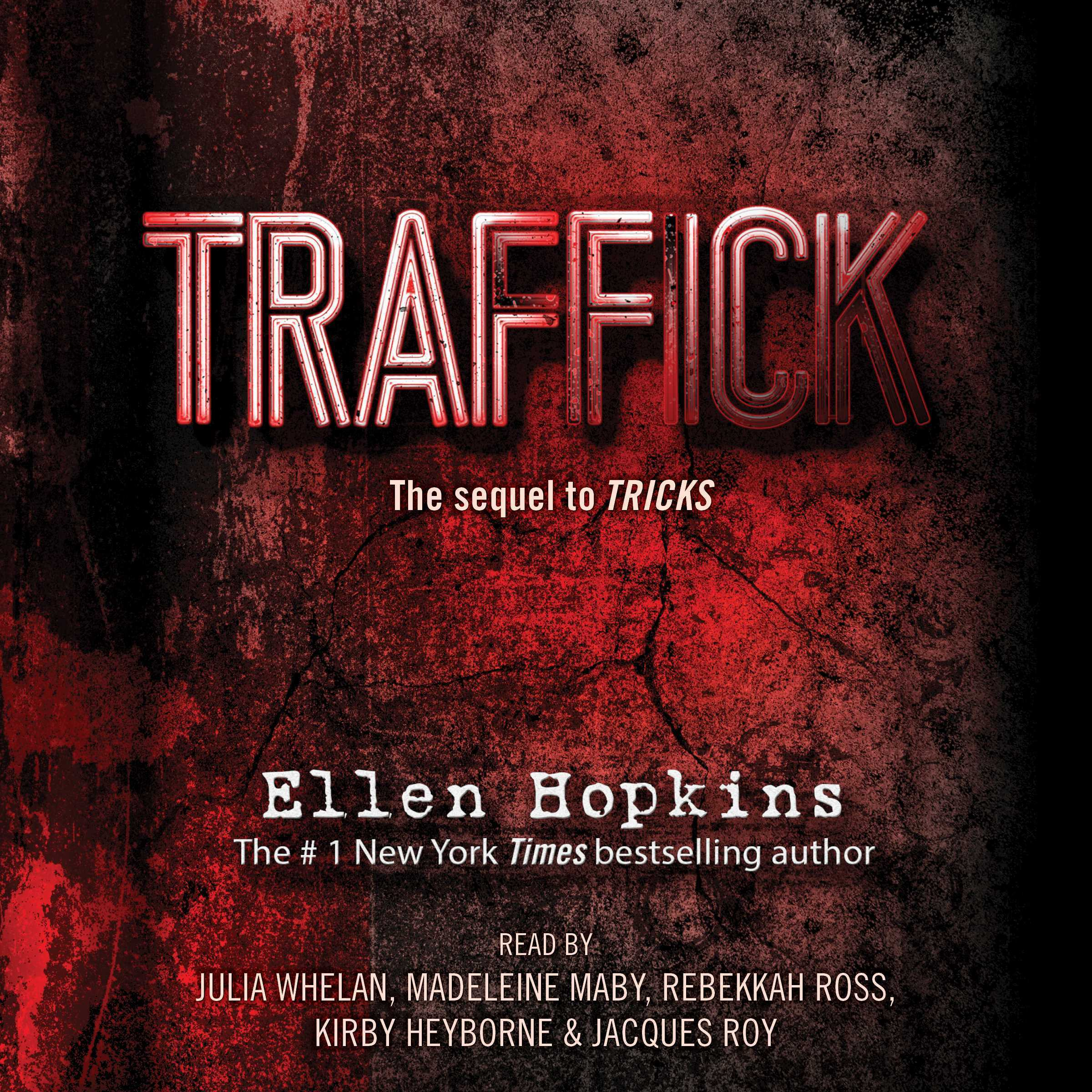 Printable Traffick Audiobook Cover Art