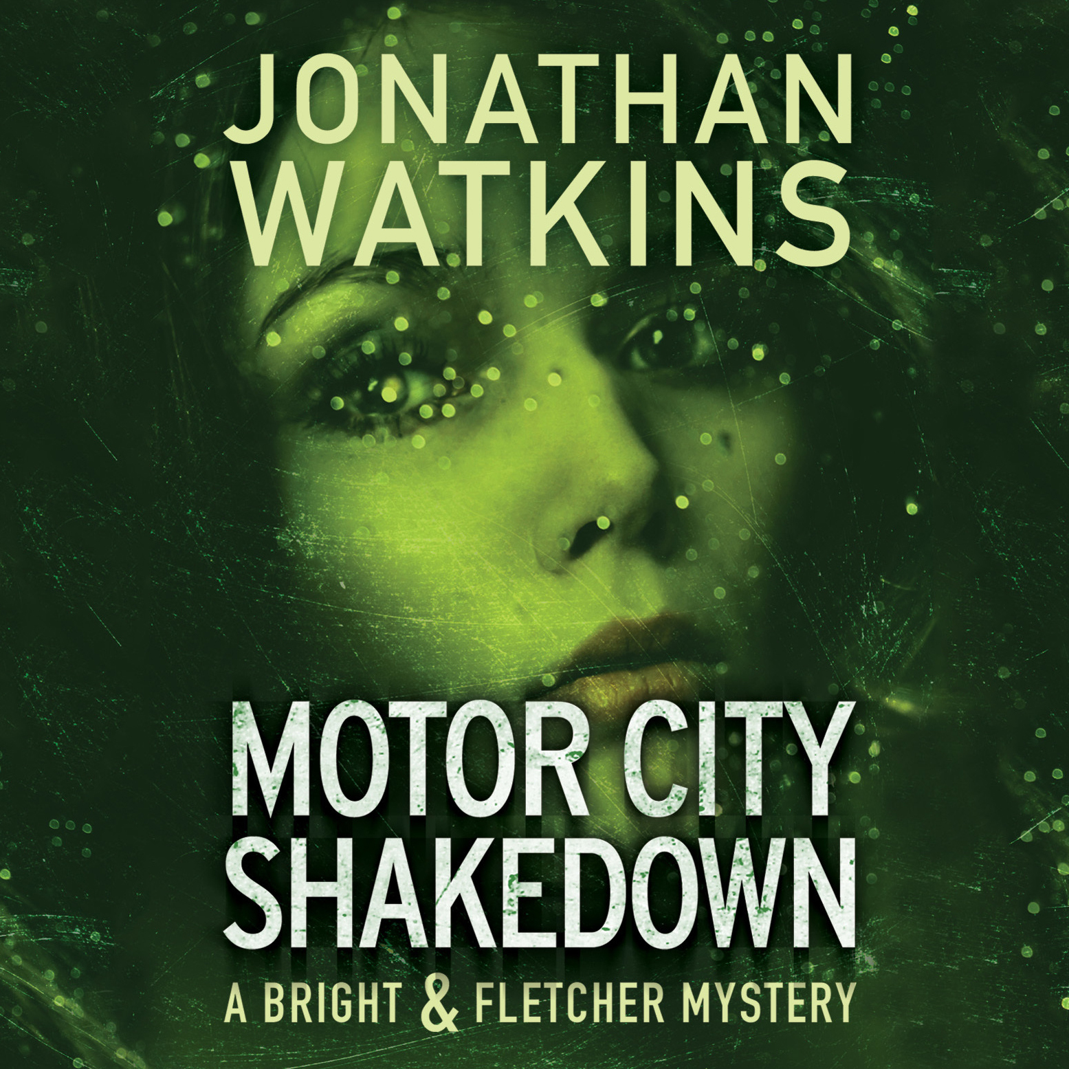 Printable Motor City Shakedown: A Bright and Fletcher Novel Audiobook Cover Art