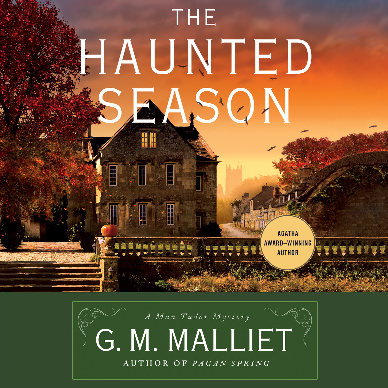 Printable The Haunted Season: A Max Tudor Novel Audiobook Cover Art