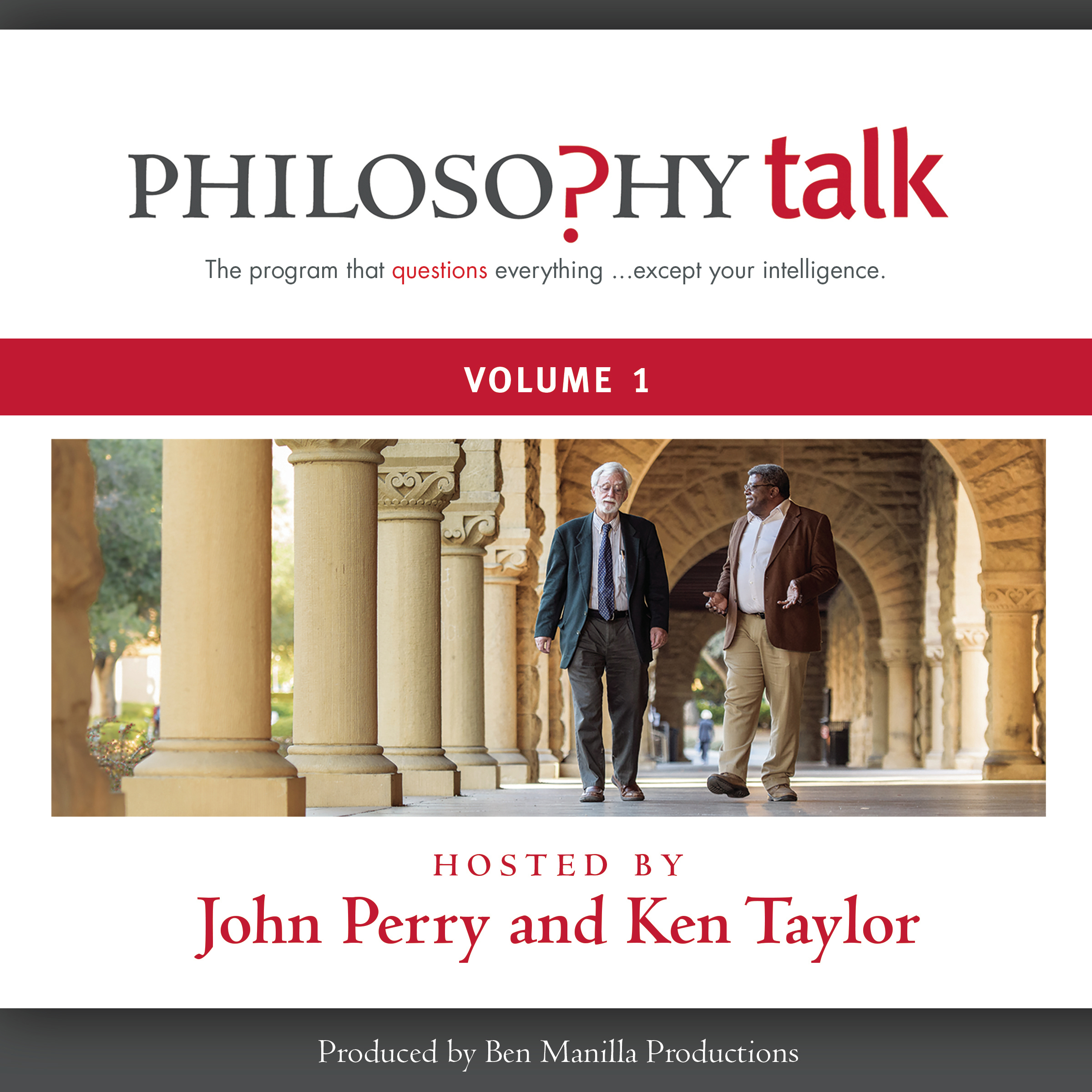 Printable Philosophy Talk, Vol. 1 Audiobook Cover Art