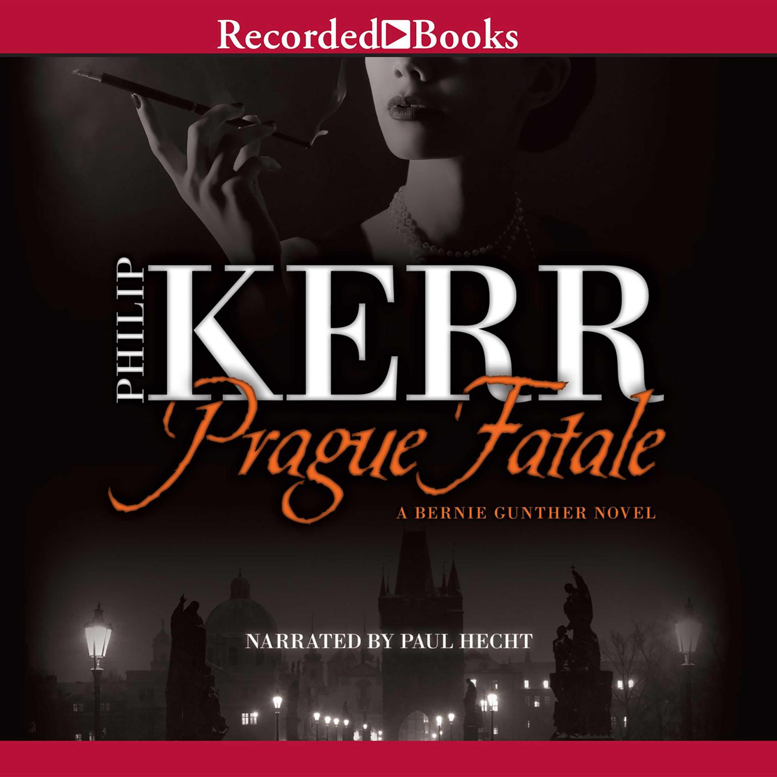 Printable Prague Fatale Audiobook Cover Art