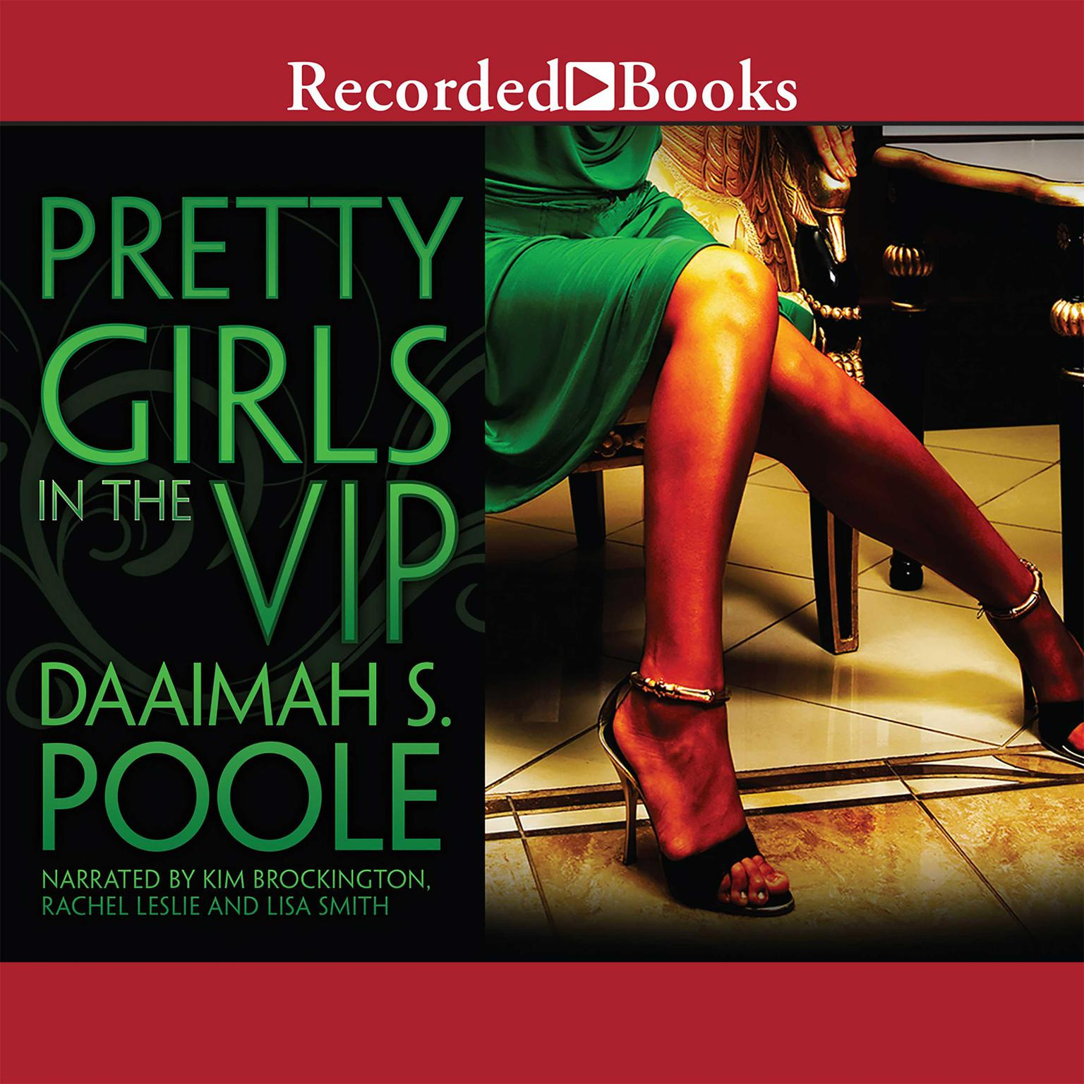 Printable Pretty Girls in the VIP Audiobook Cover Art