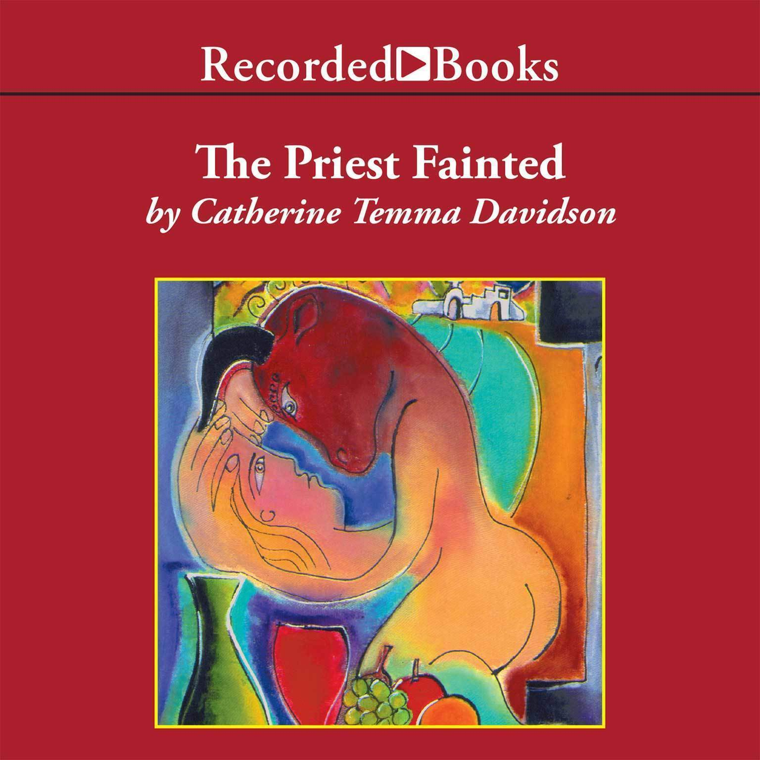 Printable The Priest Fainted Audiobook Cover Art