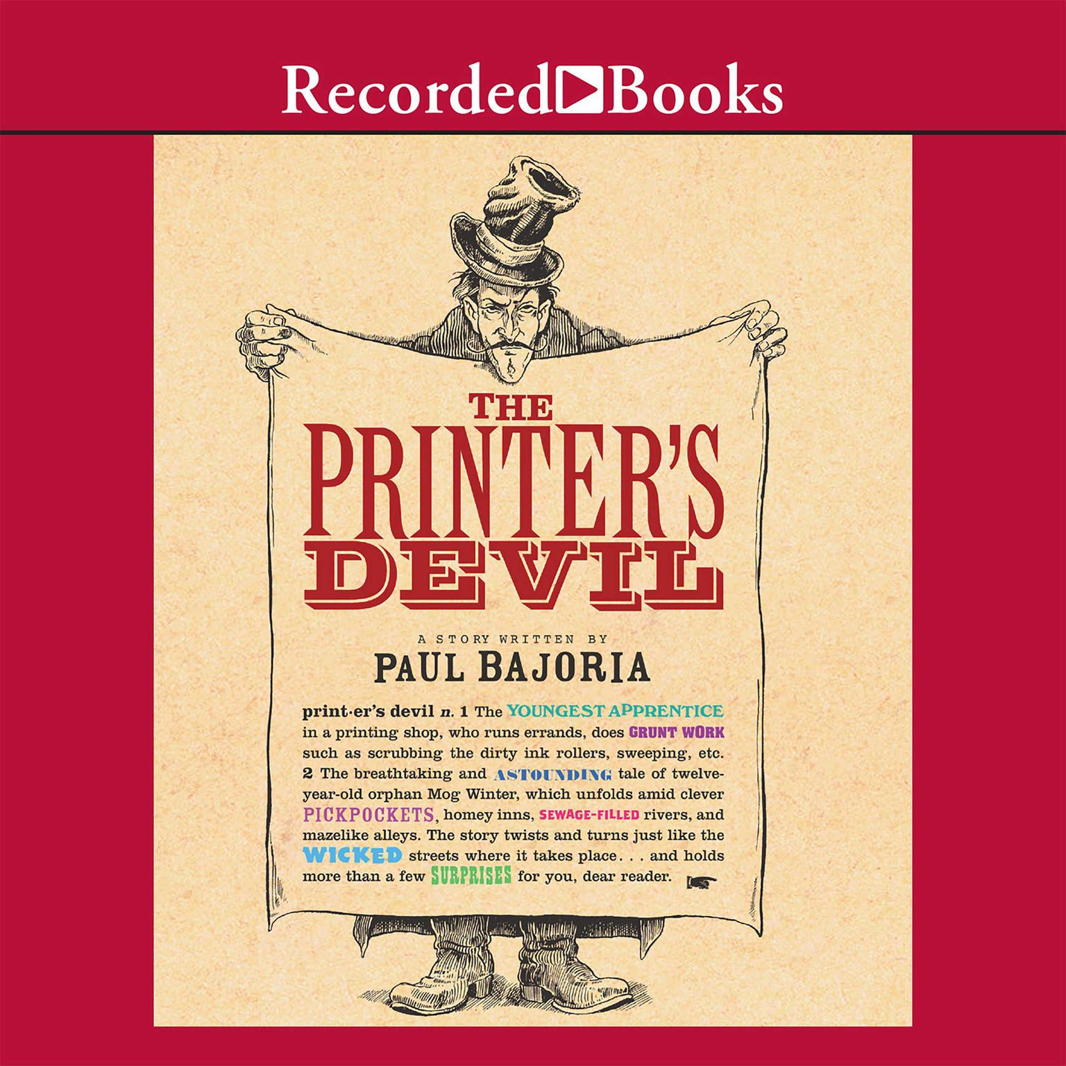 Printable The Printer's Devil Audiobook Cover Art