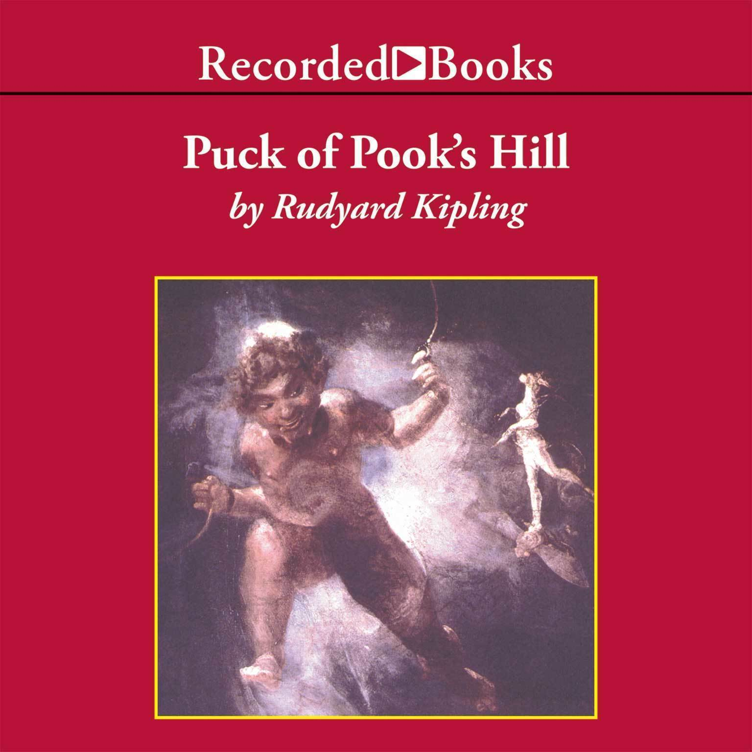 Printable Puck of Pook's Hill Audiobook Cover Art