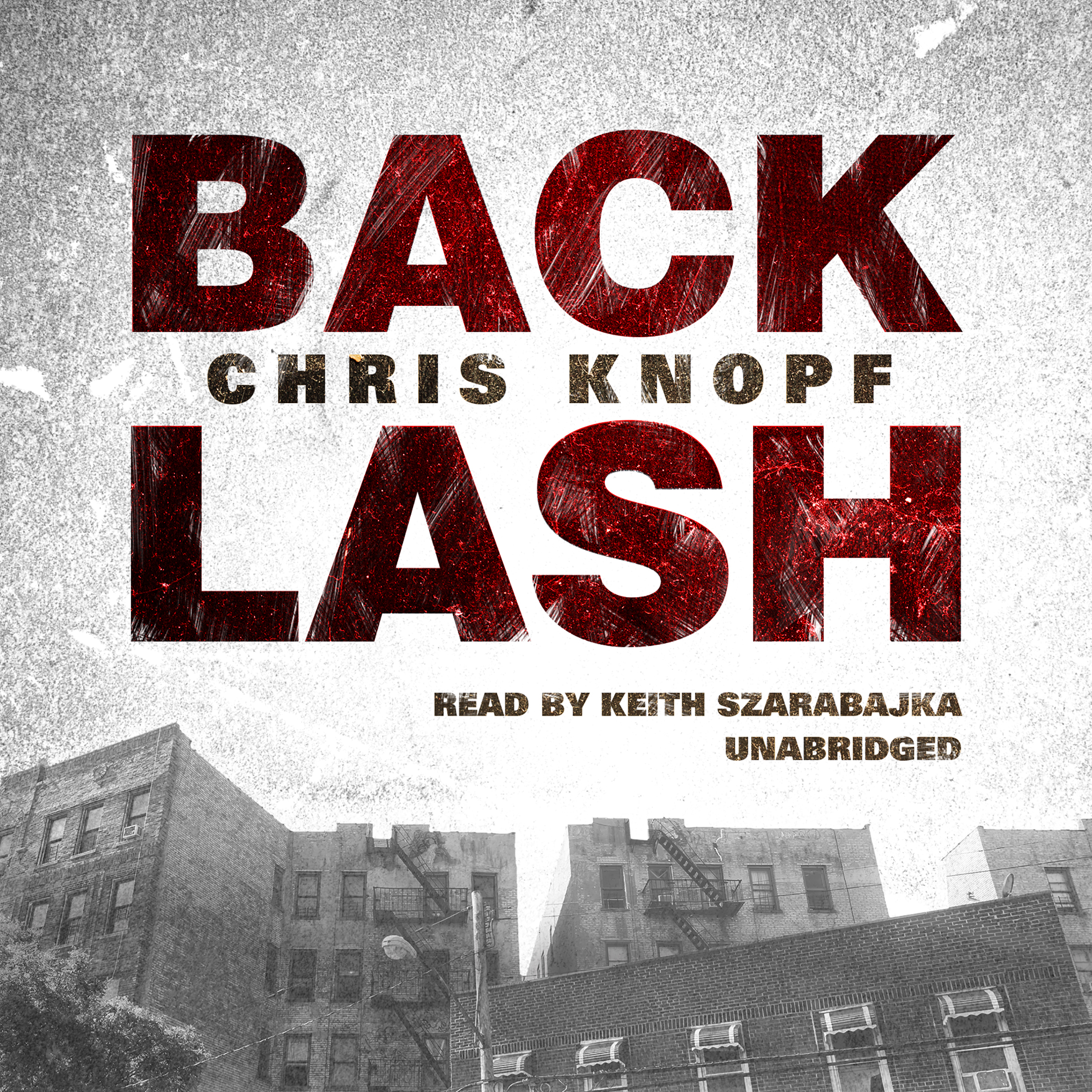 Printable Back Lash Audiobook Cover Art