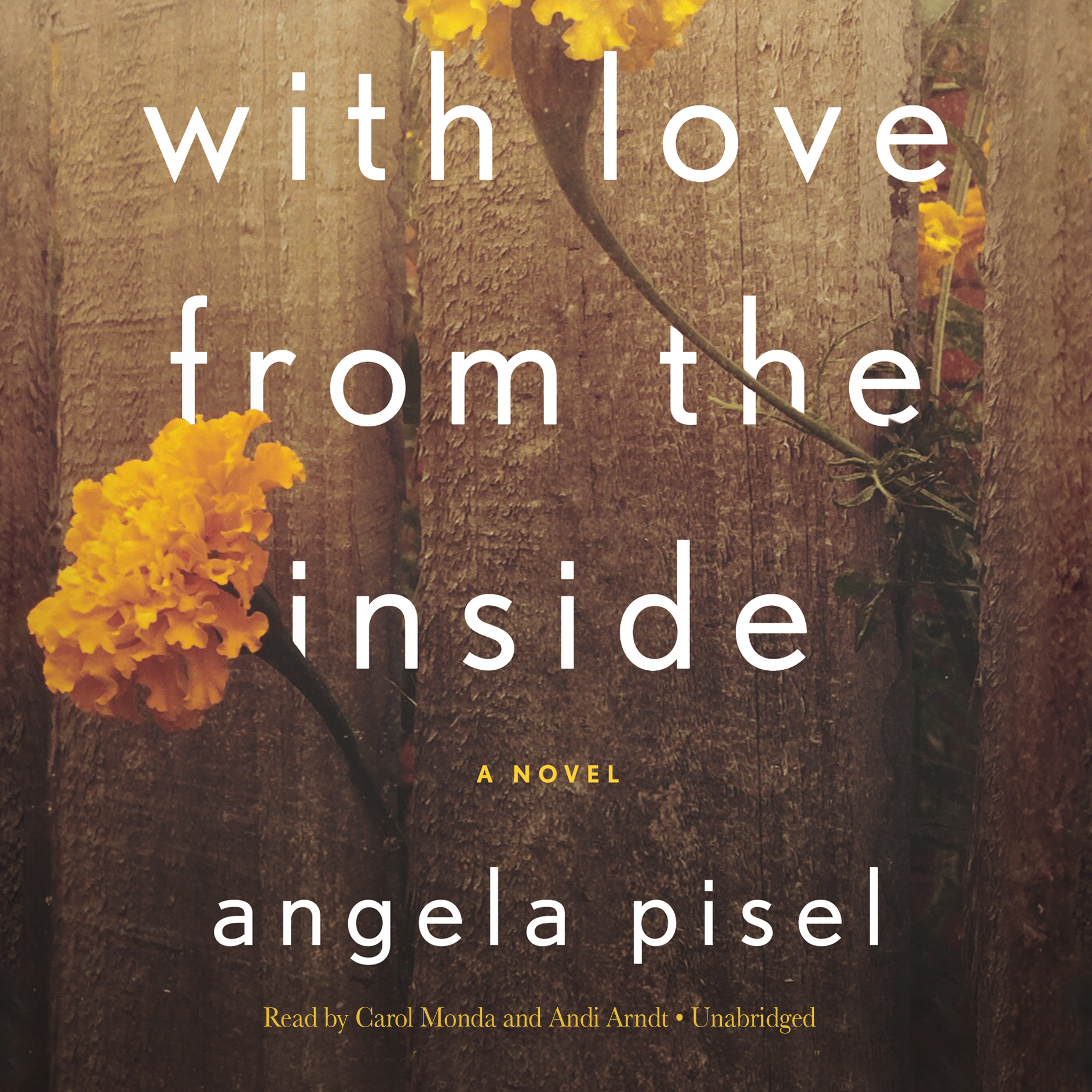 Printable With Love from the Inside Audiobook Cover Art