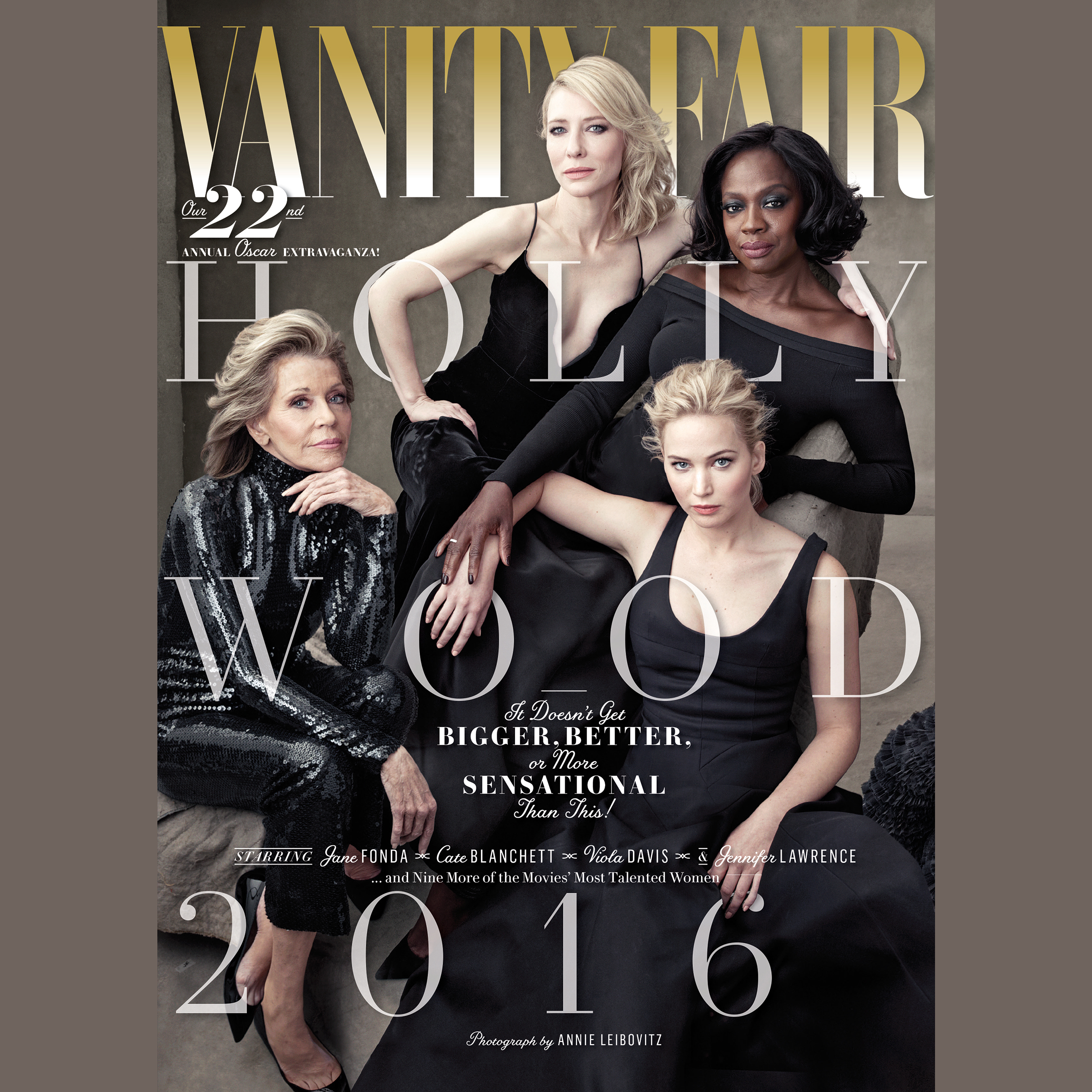 Printable Vanity Fair: 2016 Hollywood Issue Audiobook Cover Art