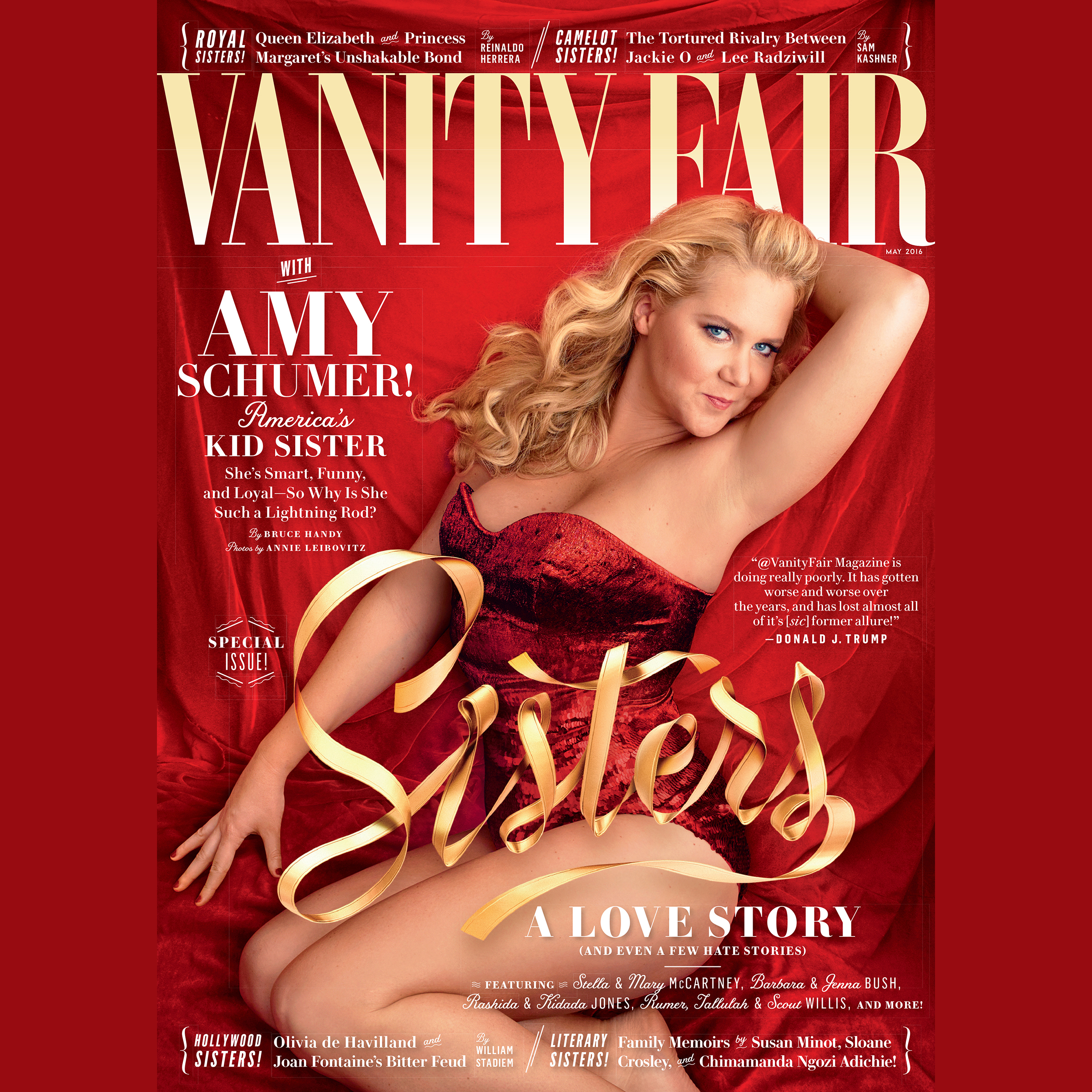 Printable Vanity Fair: May 2016 Issue Audiobook Cover Art