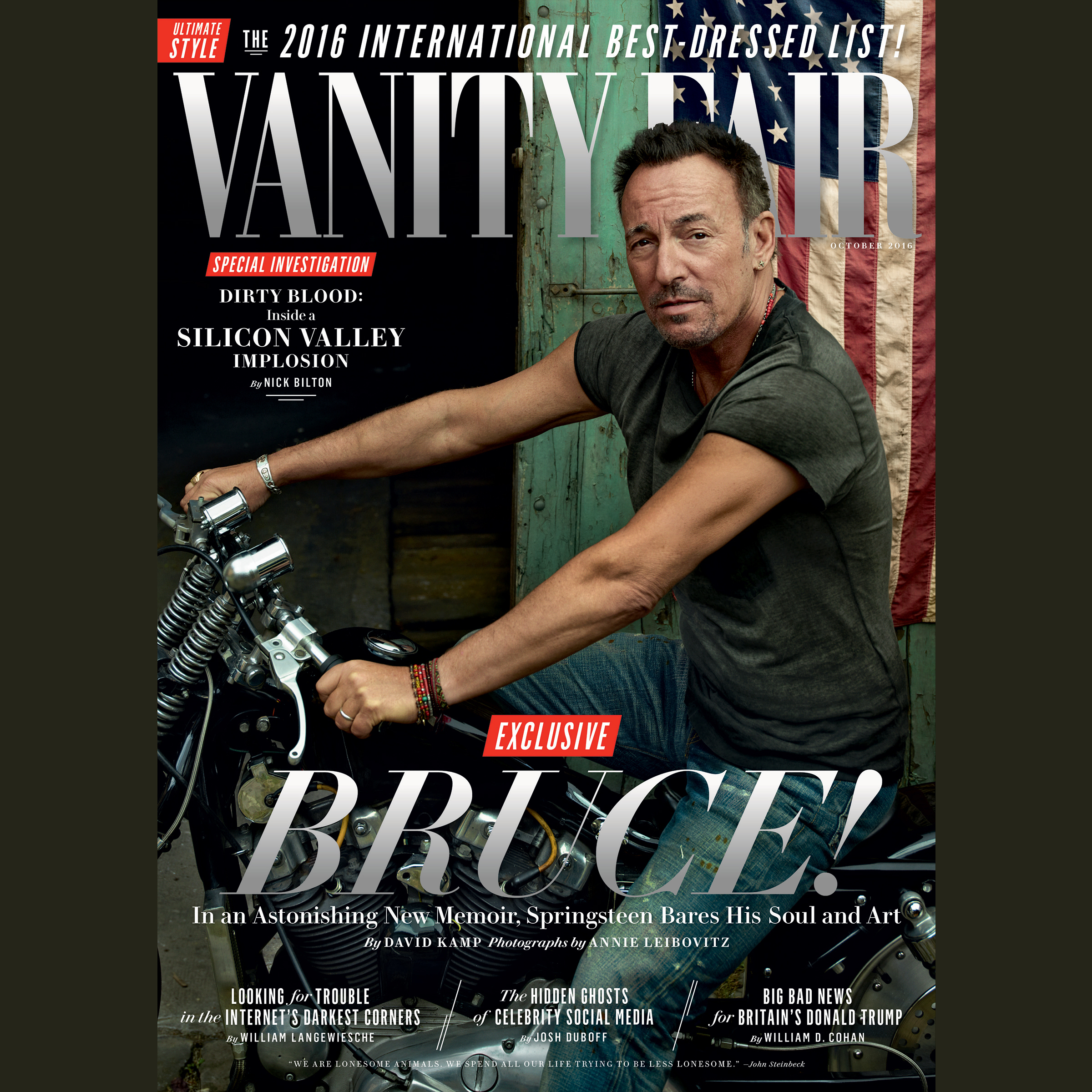Printable Vanity Fair: October 2016 Issue Audiobook Cover Art