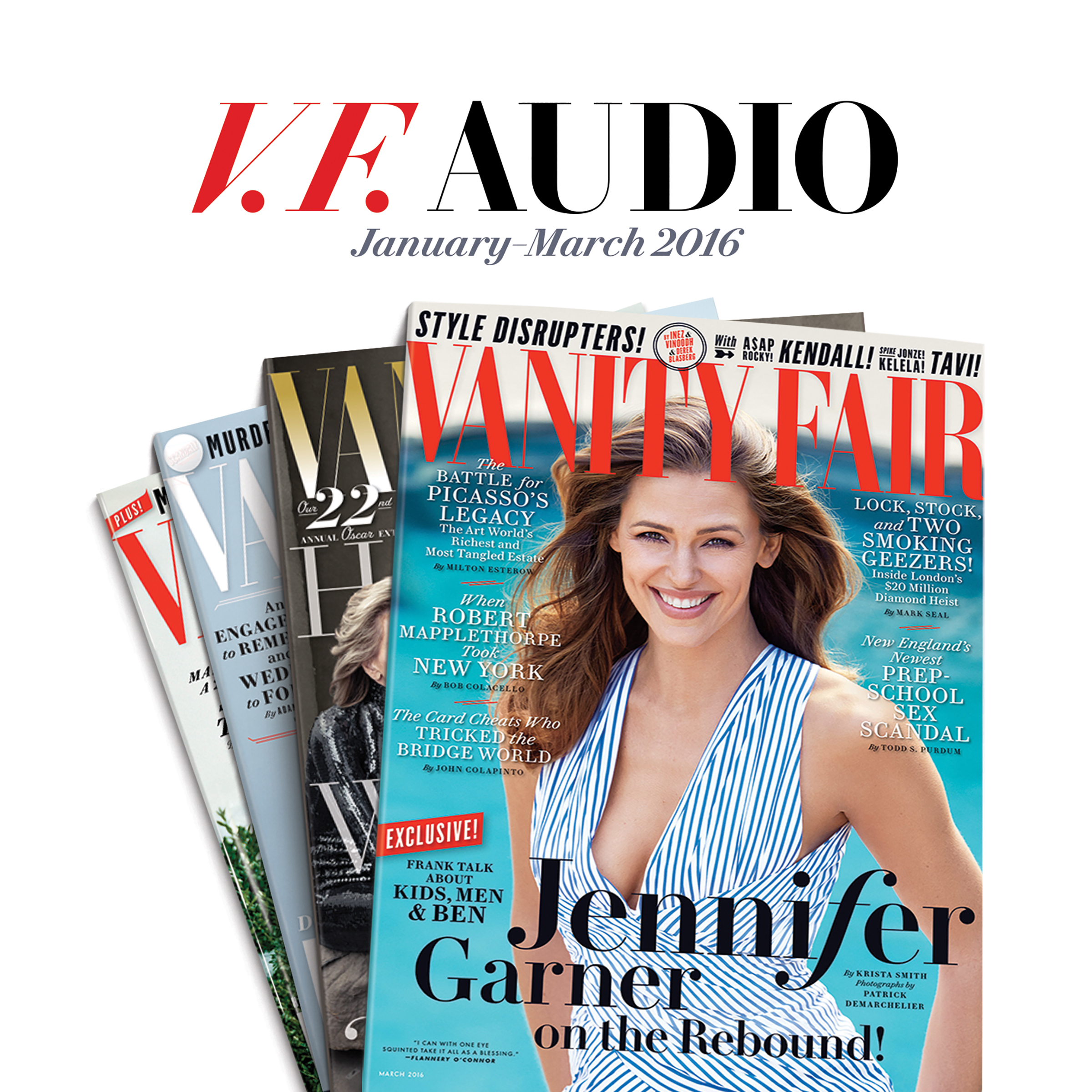 Printable Vanity Fair: January–March 2016 Issue Audiobook Cover Art