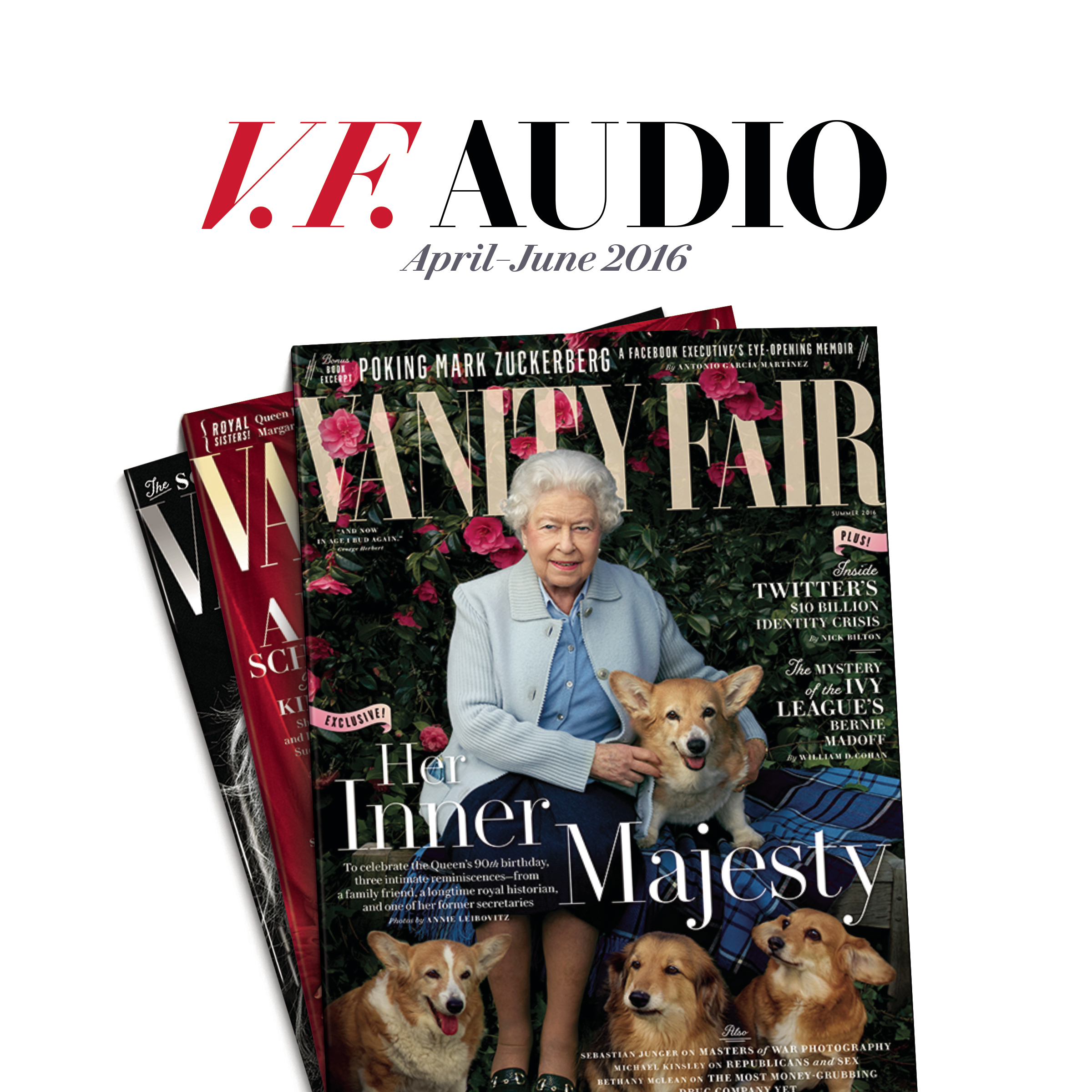 Printable Vanity Fair: April–June 2016 Issue Audiobook Cover Art