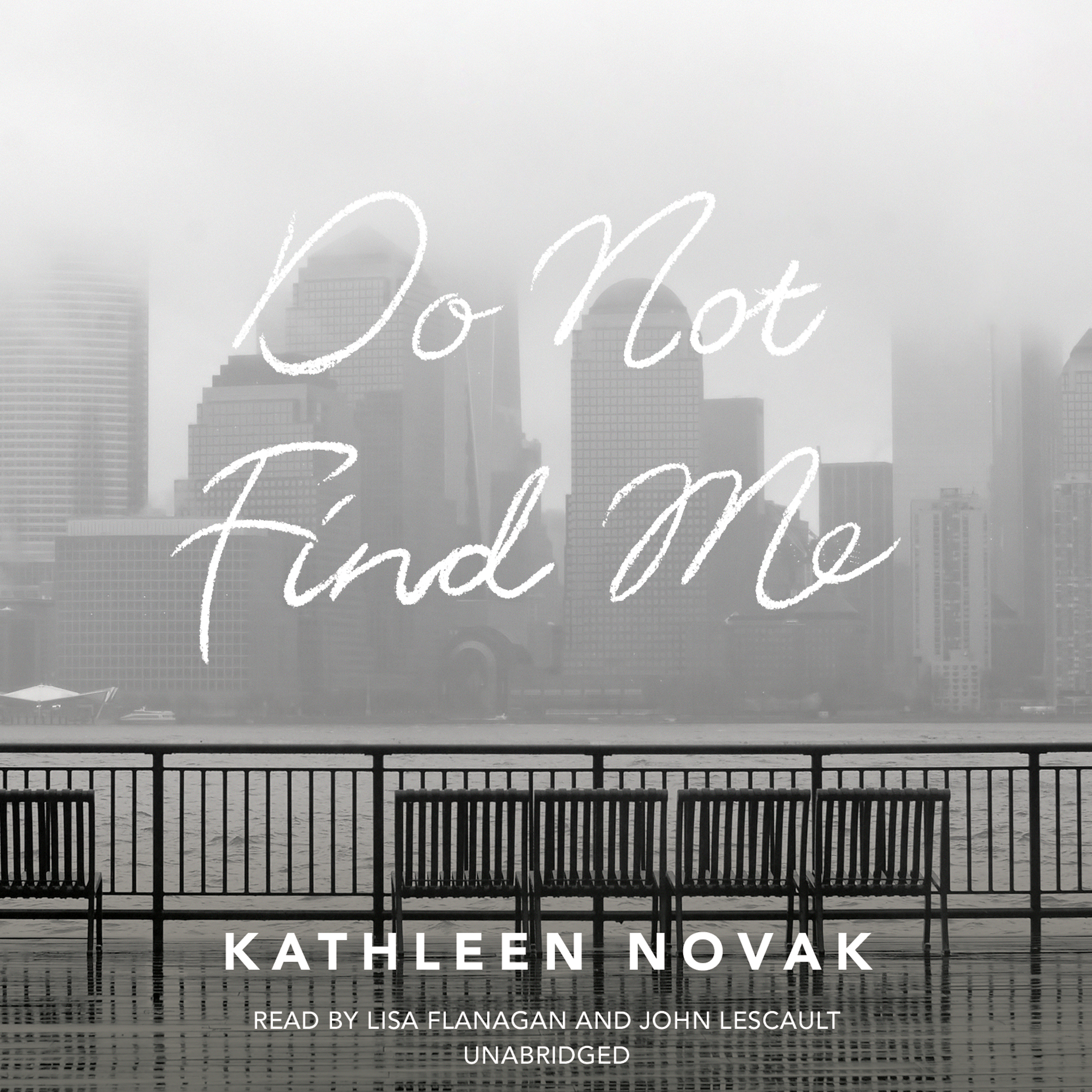 Printable Do Not Find Me Audiobook Cover Art