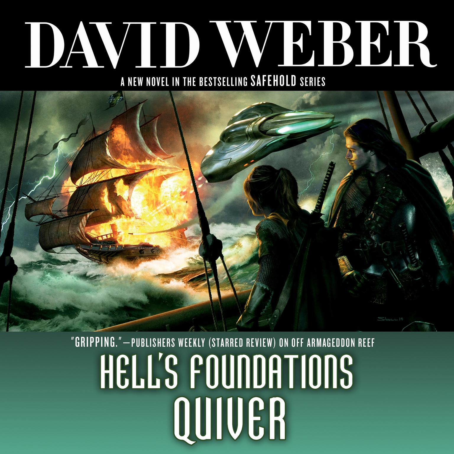 Printable Hell's Foundations Quiver Audiobook Cover Art