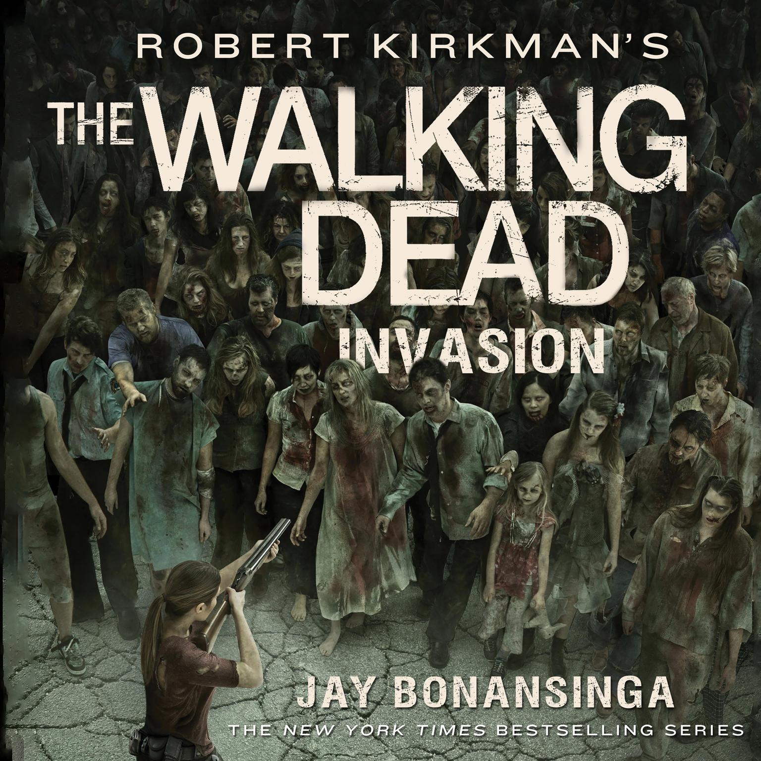 Printable Robert Kirkman's The Walking Dead: Invasion Audiobook Cover Art