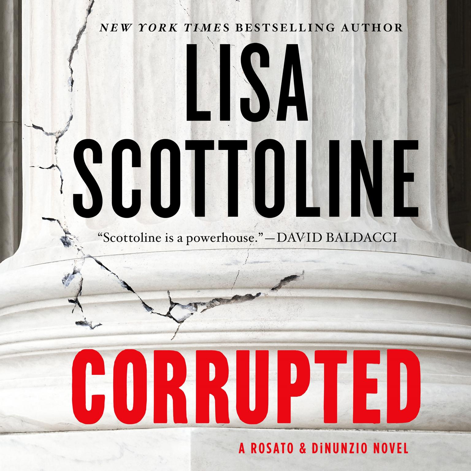 Printable Corrupted: A Rosato & DiNunzio Novel Audiobook Cover Art