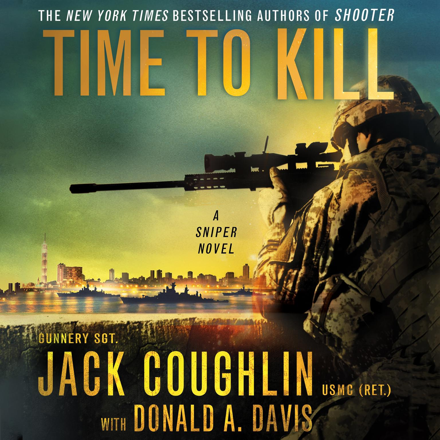 Printable Time to Kill: A Sniper Novel Audiobook Cover Art