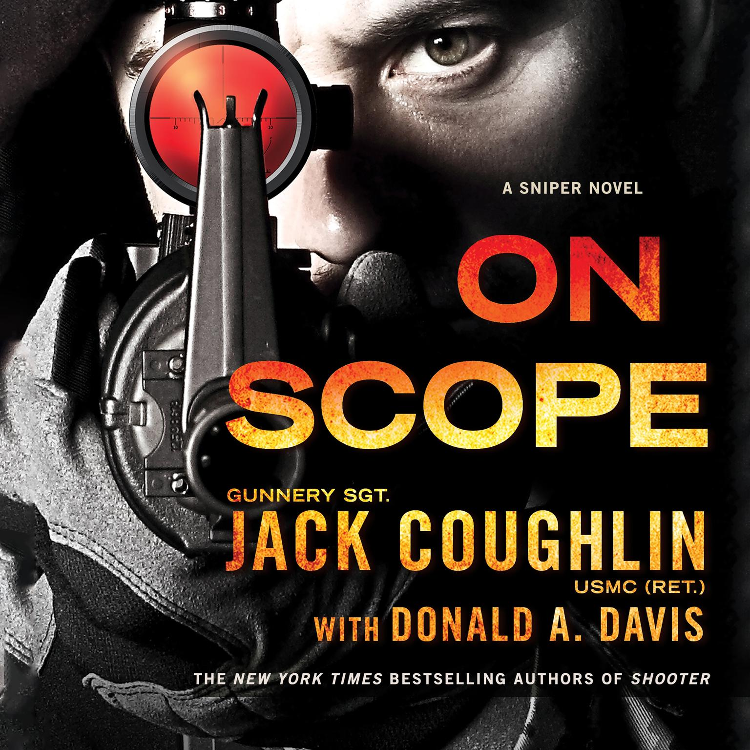 Printable On Scope: A Sniper Novel Audiobook Cover Art