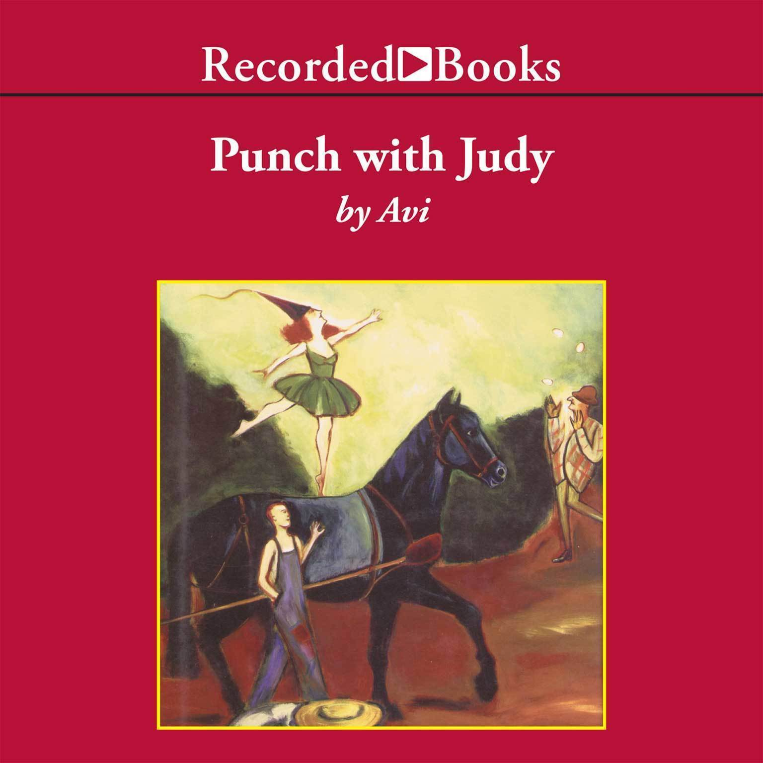 Printable Punch with Judy Audiobook Cover Art