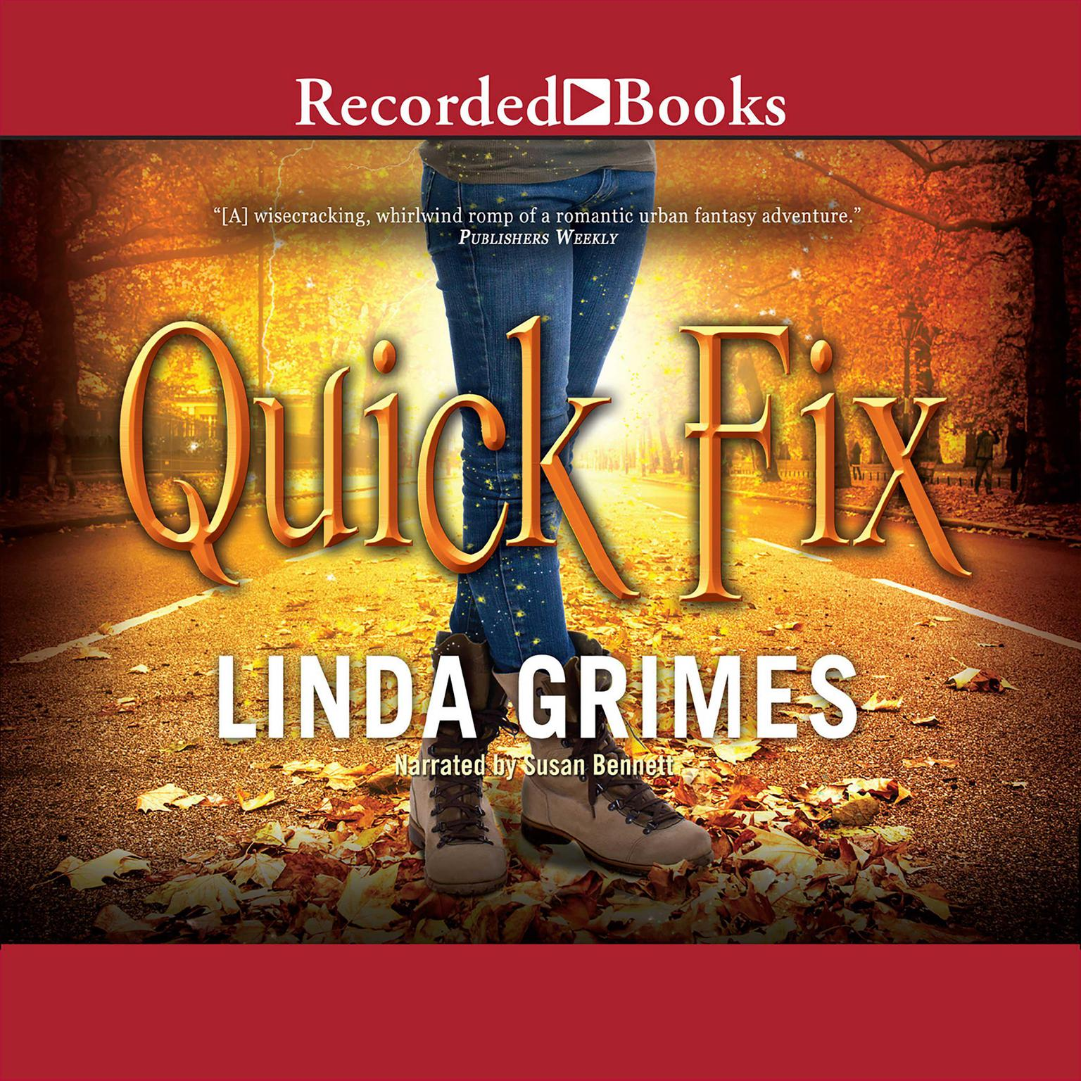 Printable Quick Fix Audiobook Cover Art
