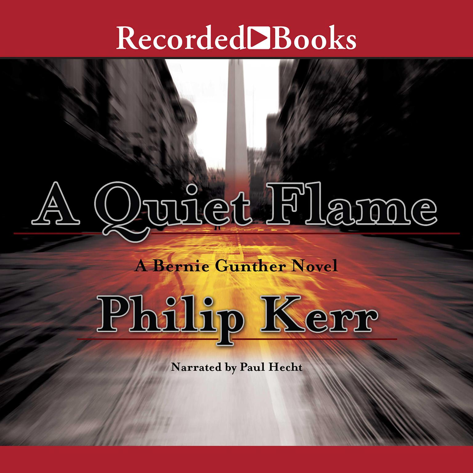 Printable A Quiet Flame Audiobook Cover Art