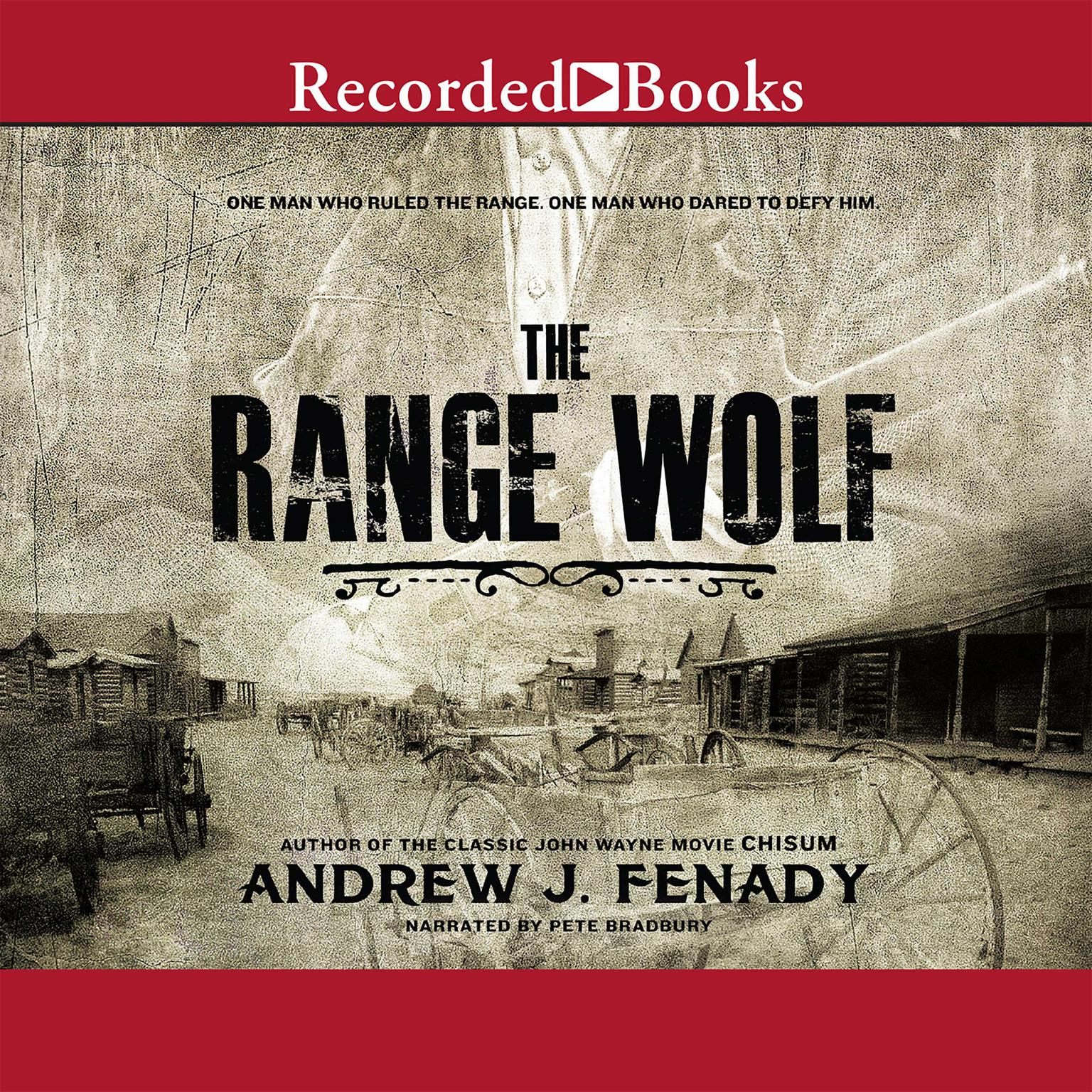 Printable The Range Wolf Audiobook Cover Art