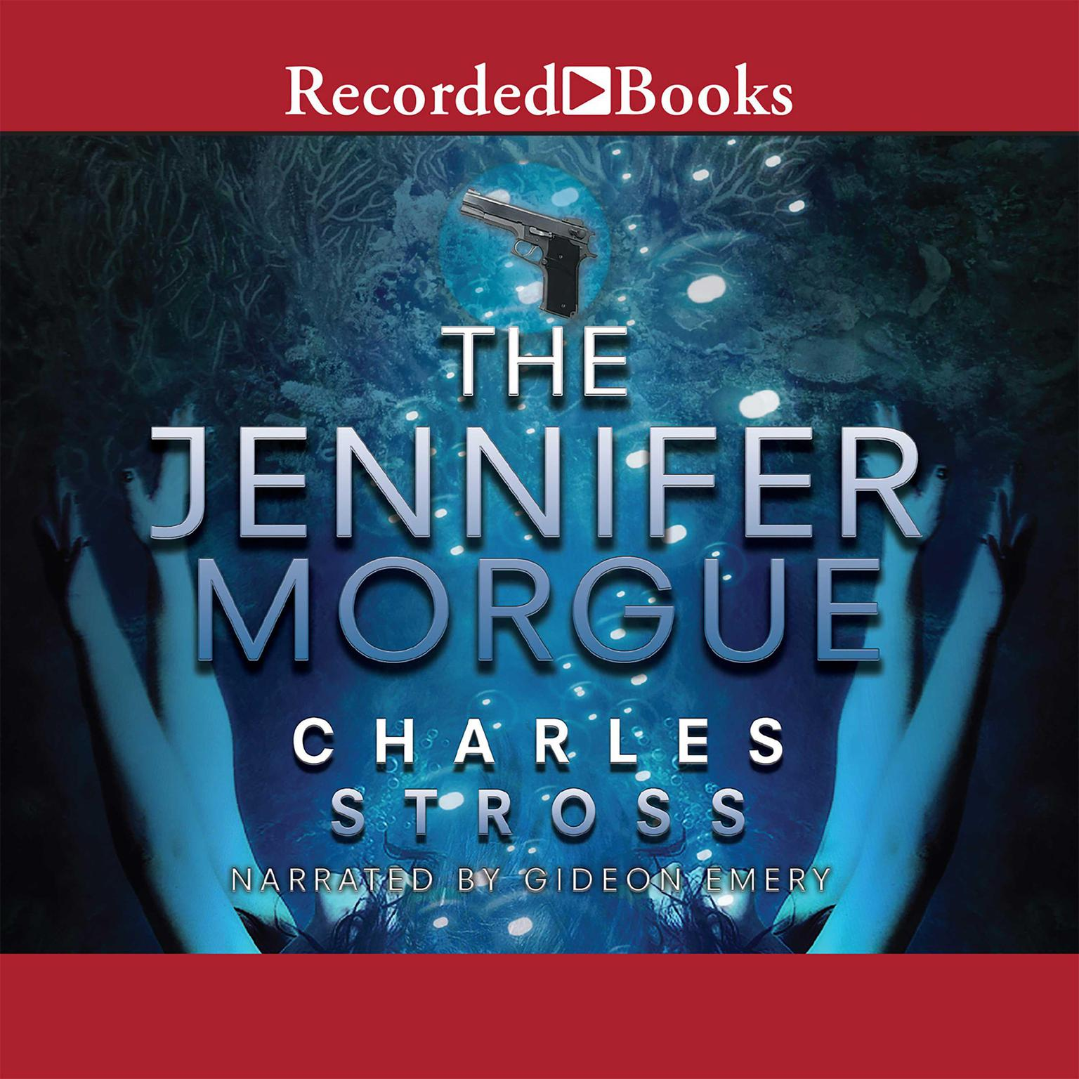 Printable The Jennifer Morgue Audiobook Cover Art