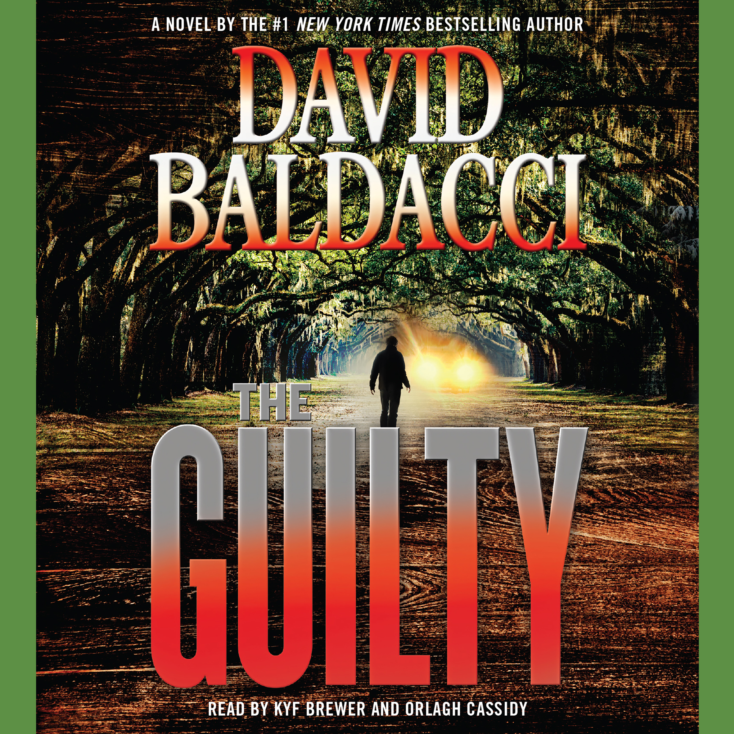 Printable The Guilty Audiobook Cover Art