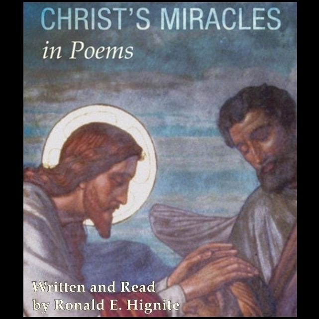 Printable Christ's Miracles In Poems Audiobook Cover Art