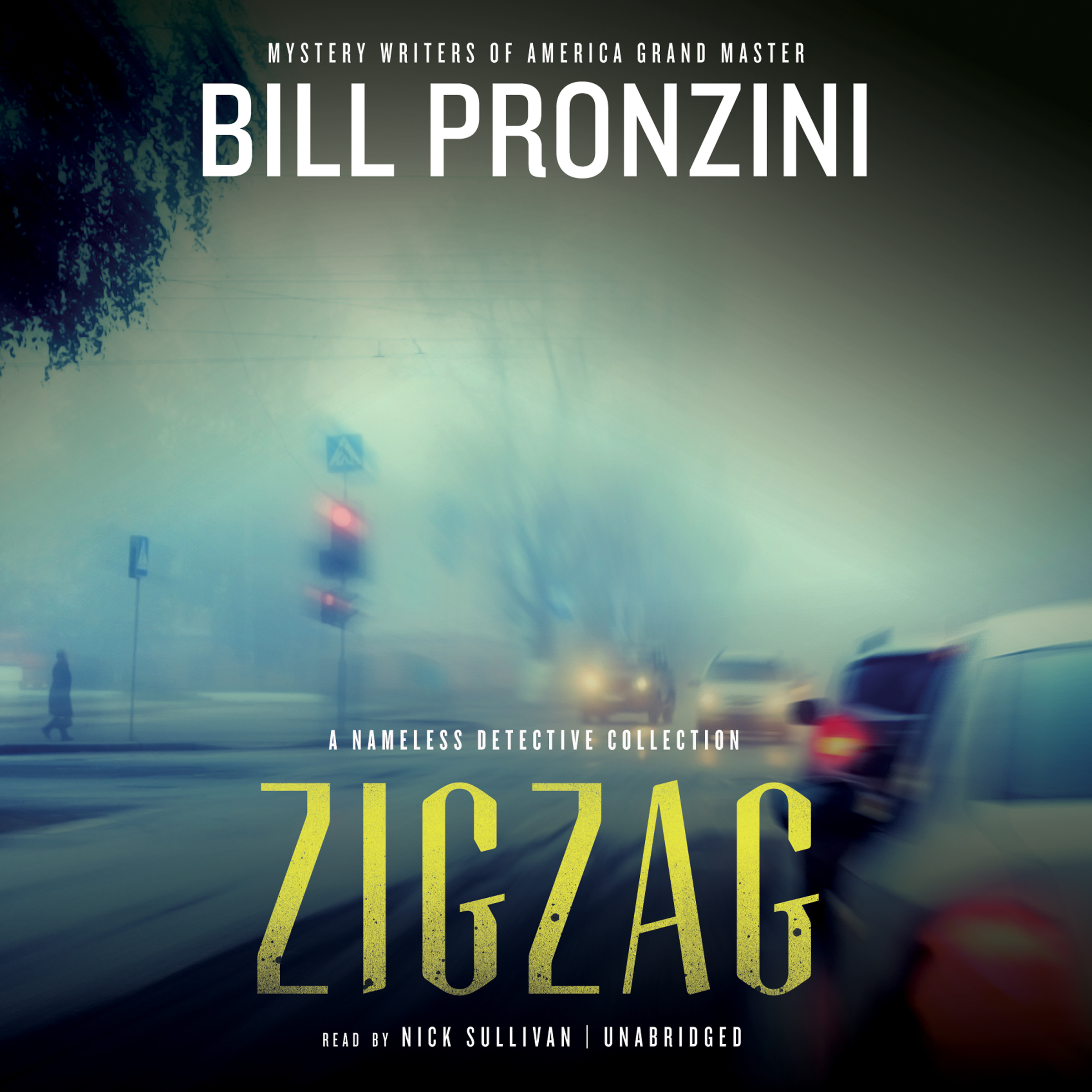 Printable Zigzag: A Nameless Detective Collection Audiobook Cover Art