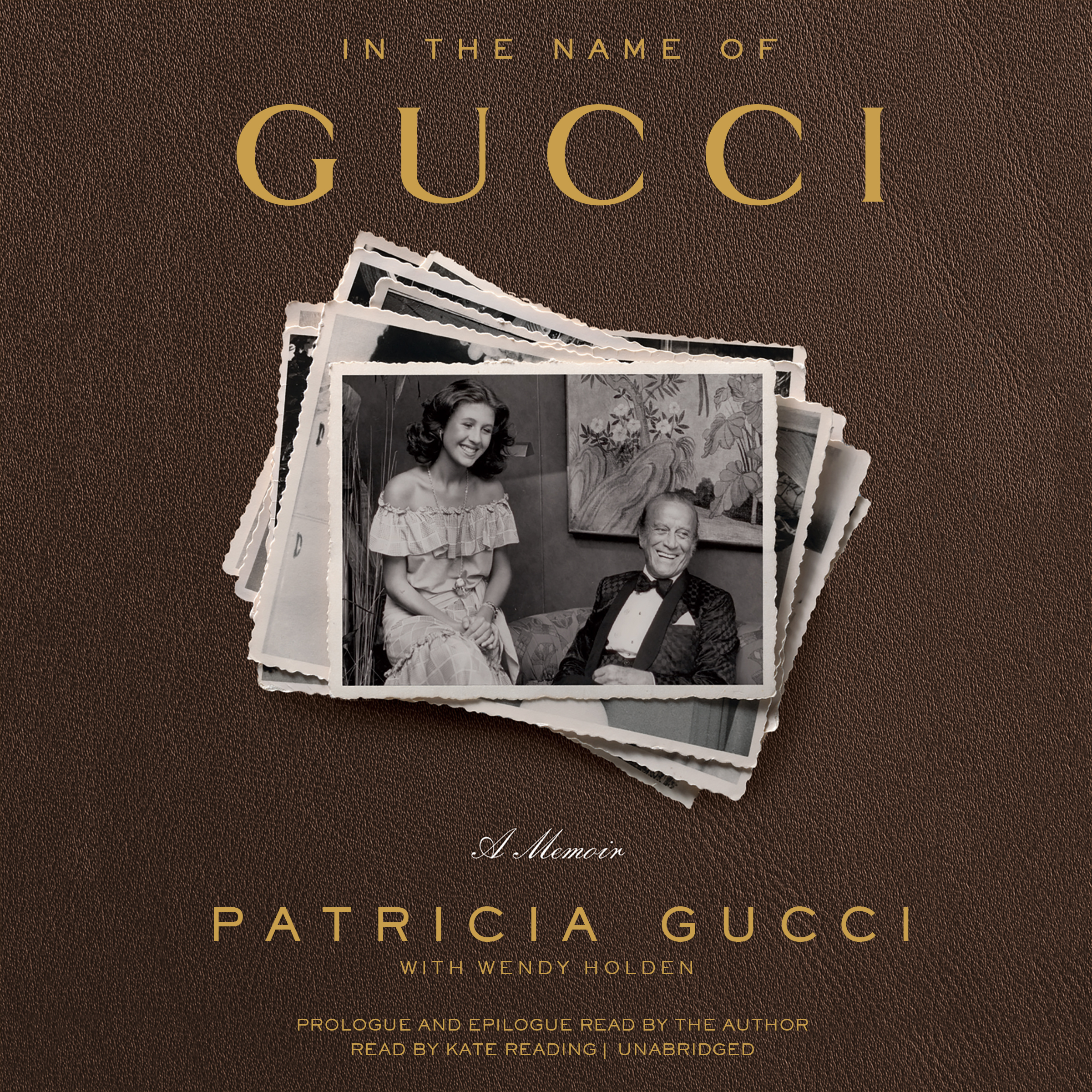 Printable In the Name of Gucci: A Memoir Audiobook Cover Art