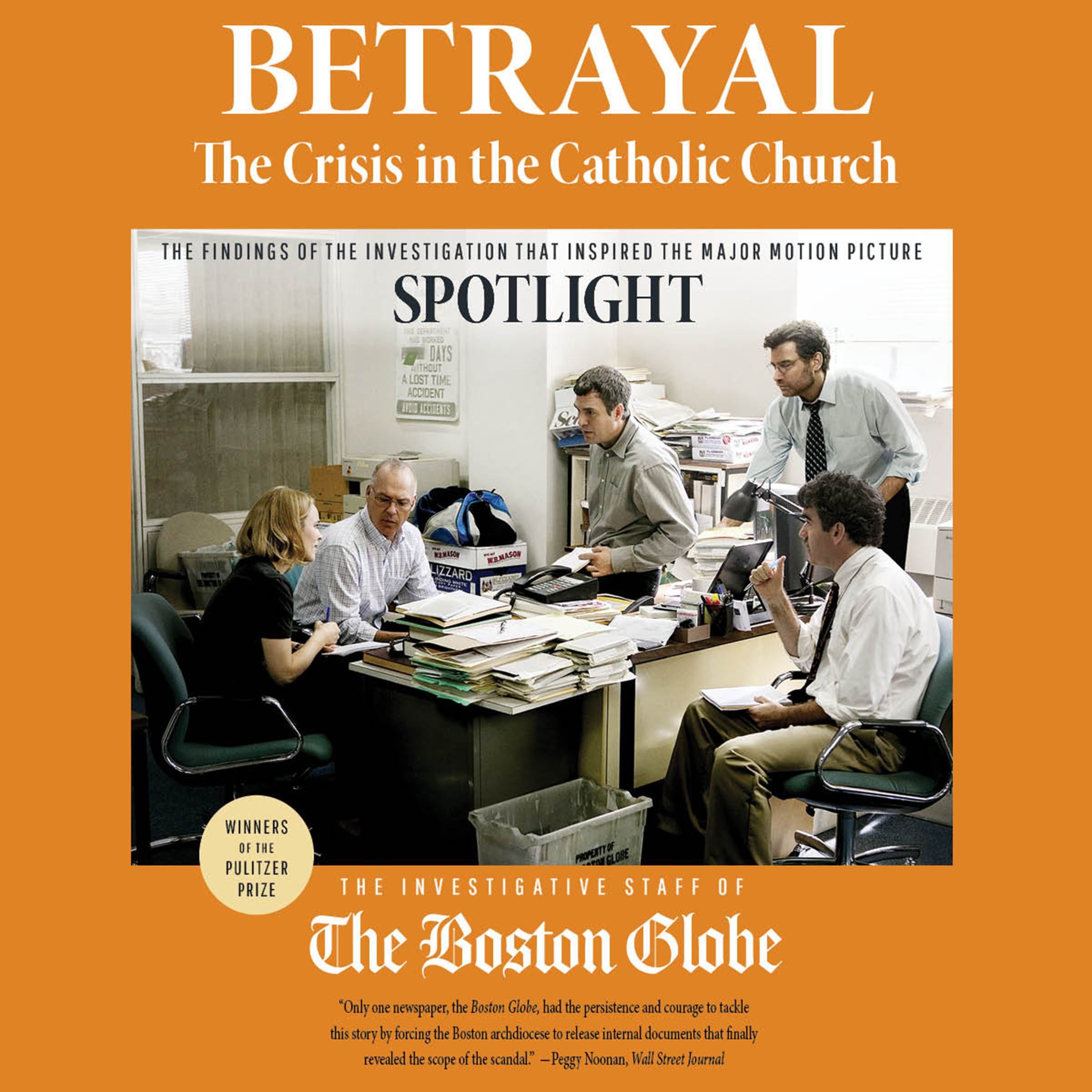 Printable Betrayal : The Crisis in the Catholic Church Audiobook Cover Art