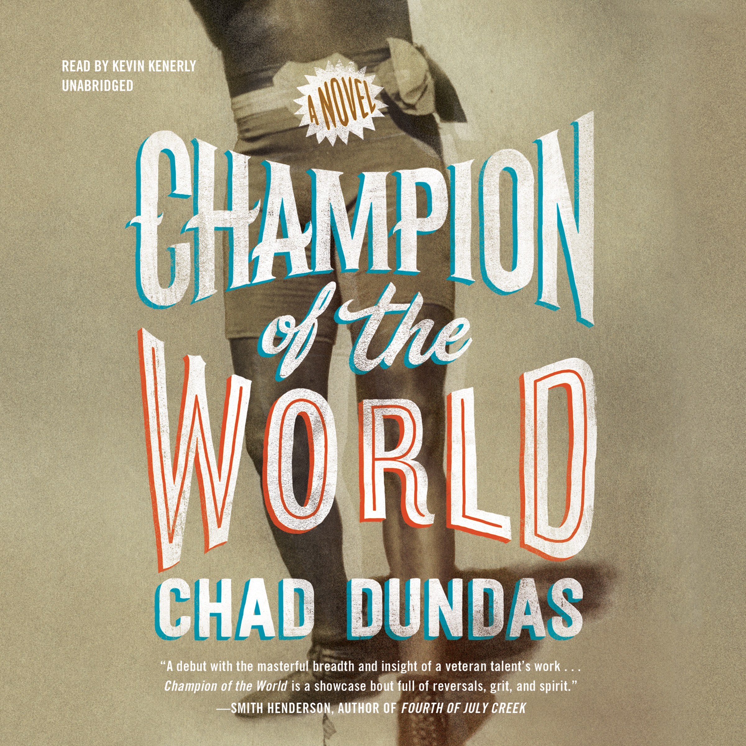 Printable Champion of the World Audiobook Cover Art