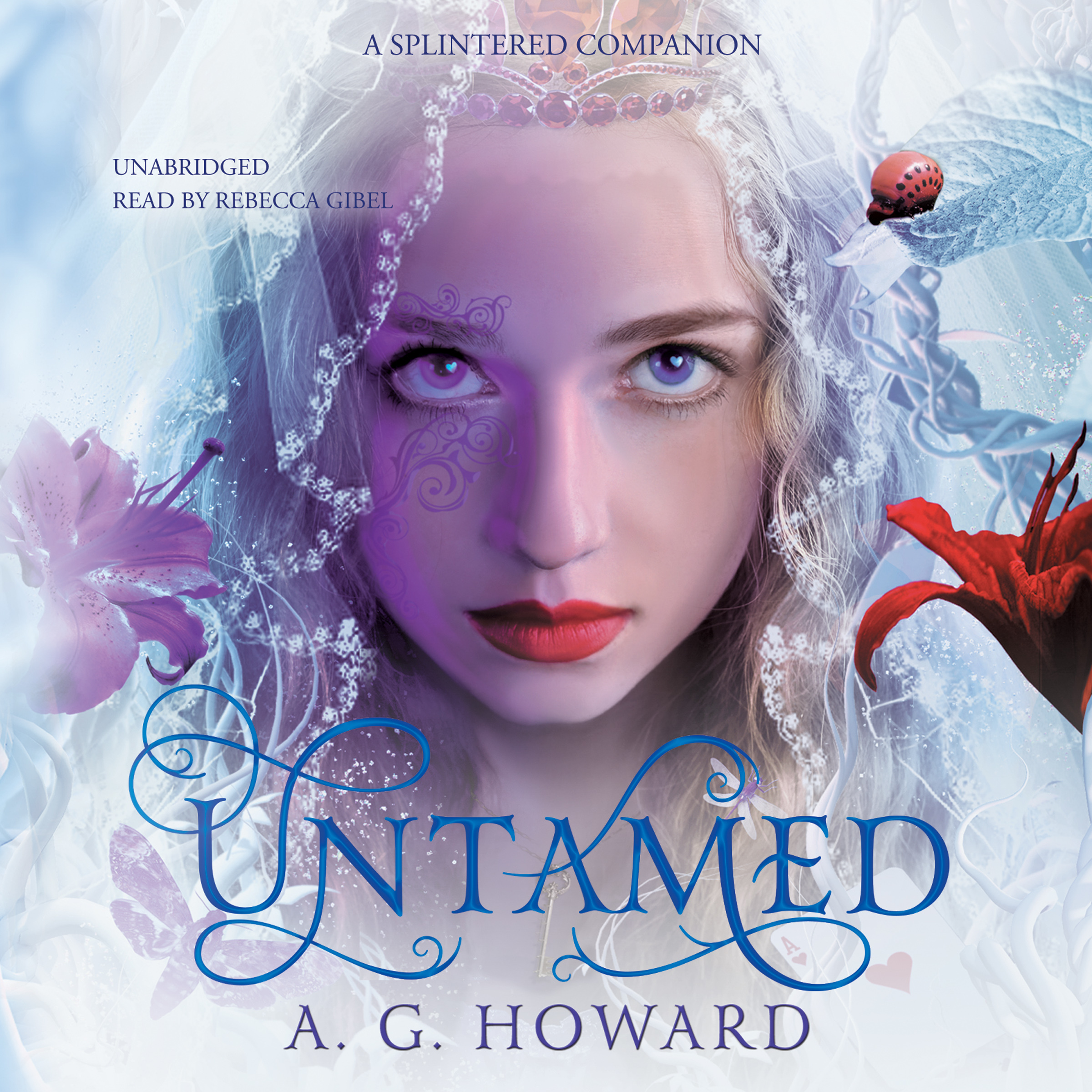 Printable Untamed: A Splintered Companion Audiobook Cover Art