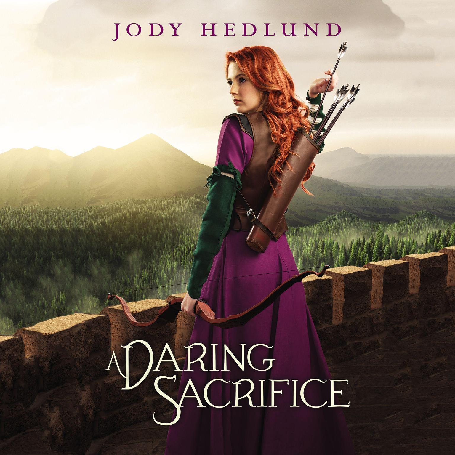 Printable A Daring Sacrifice Audiobook Cover Art